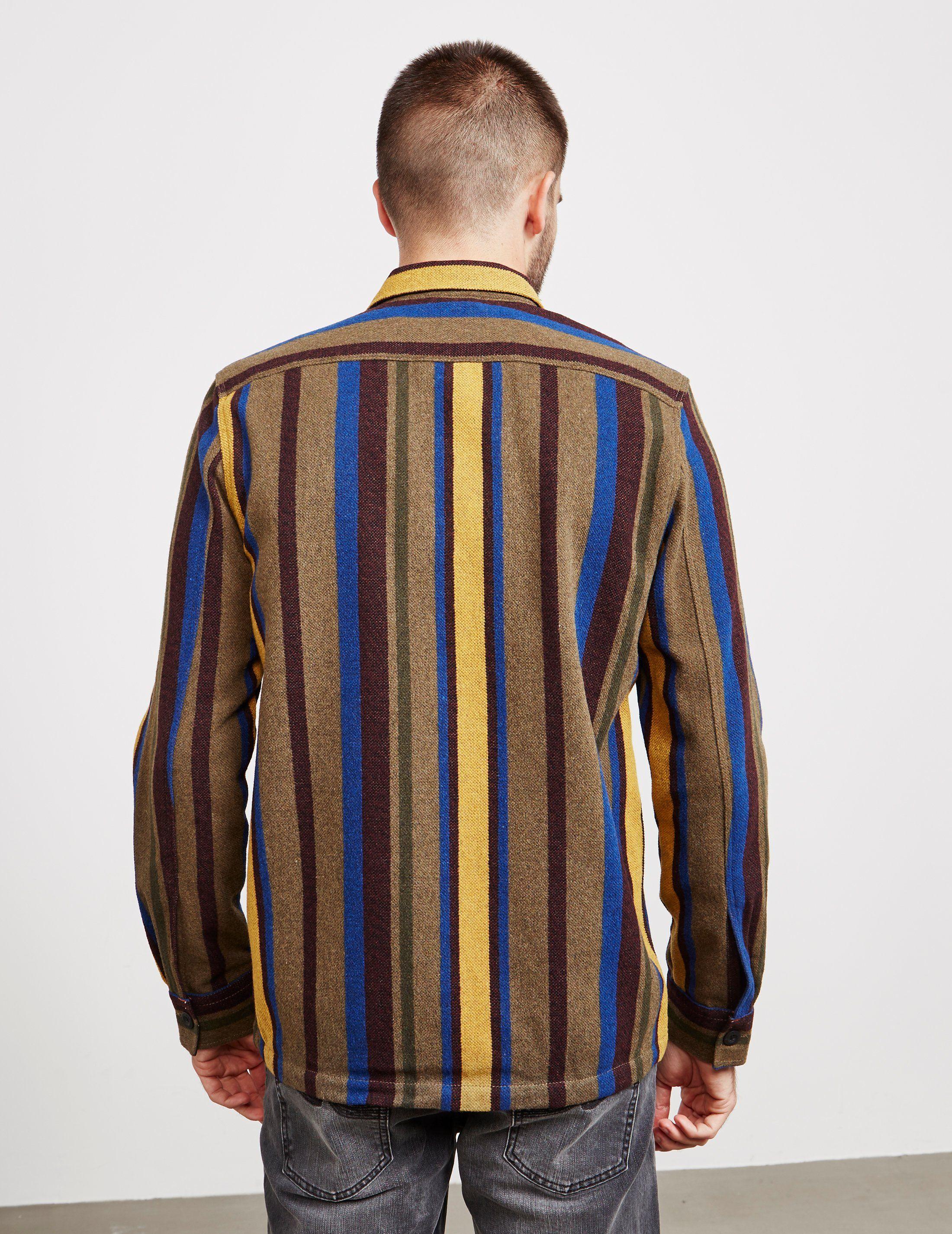 Nudie Jeans Stenwool Long Sleeve Shirt - Online Exclusive