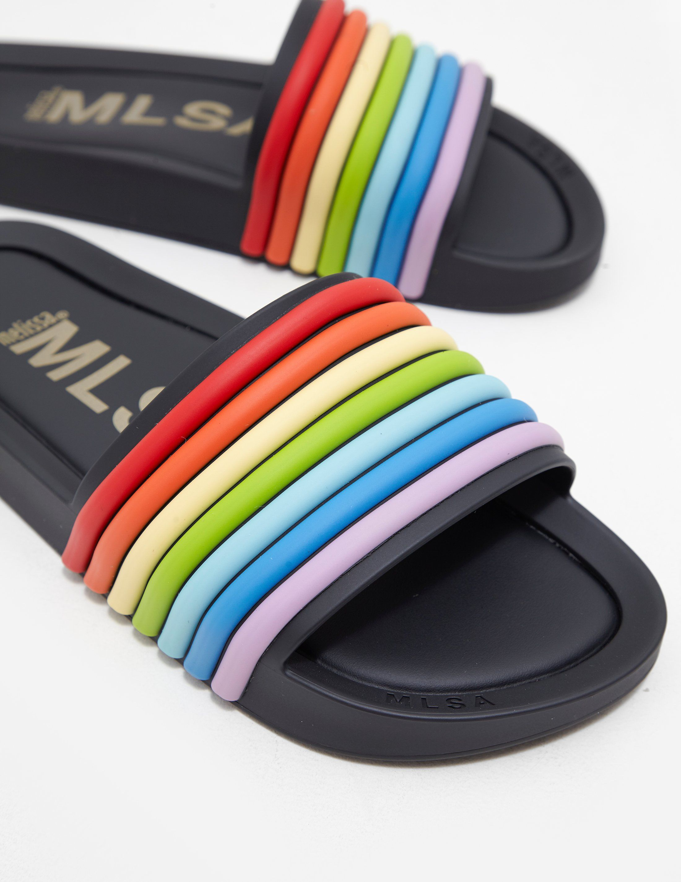 Melissa Rainbow Beach Slides