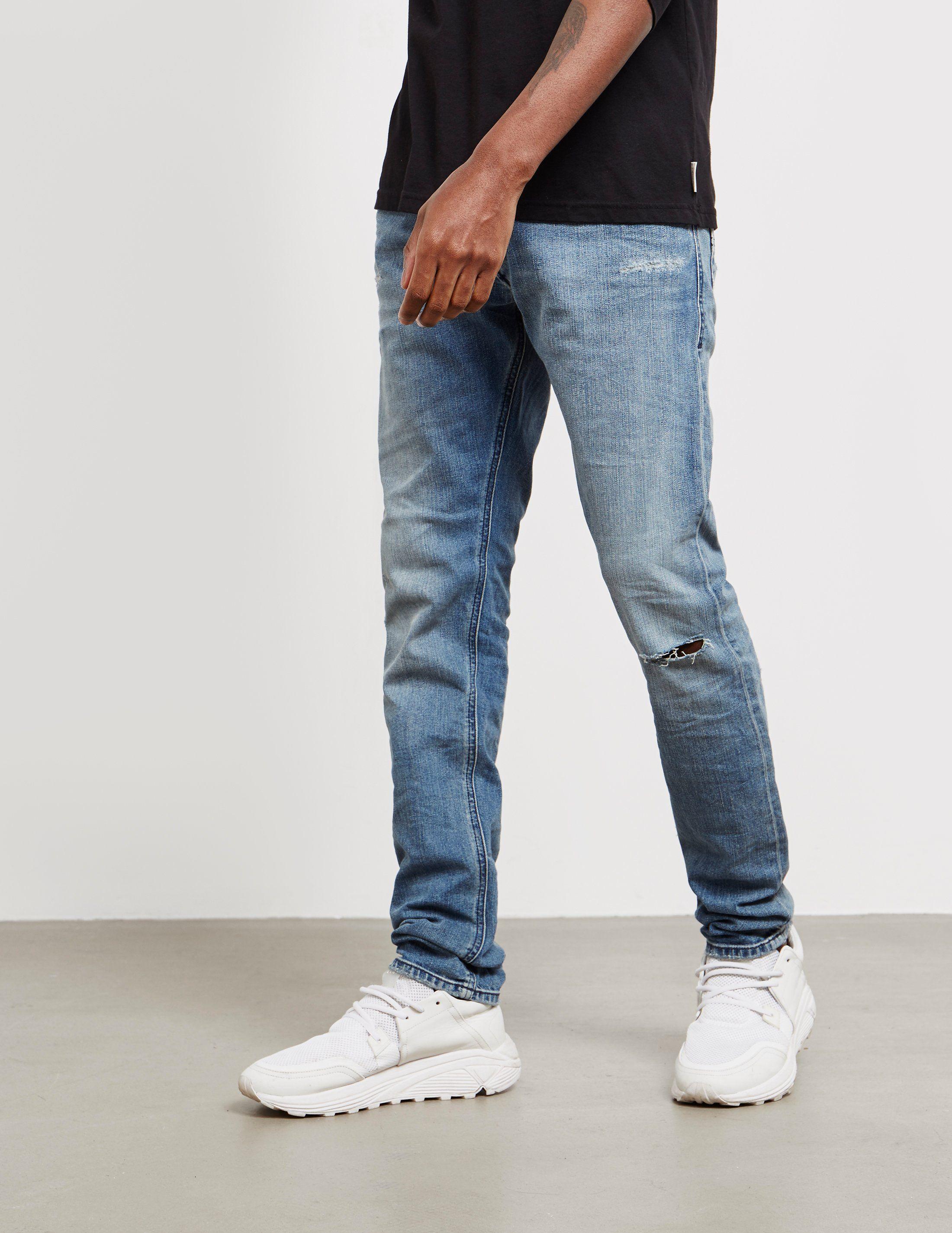 Diesel Tepphar Skinny Jeans