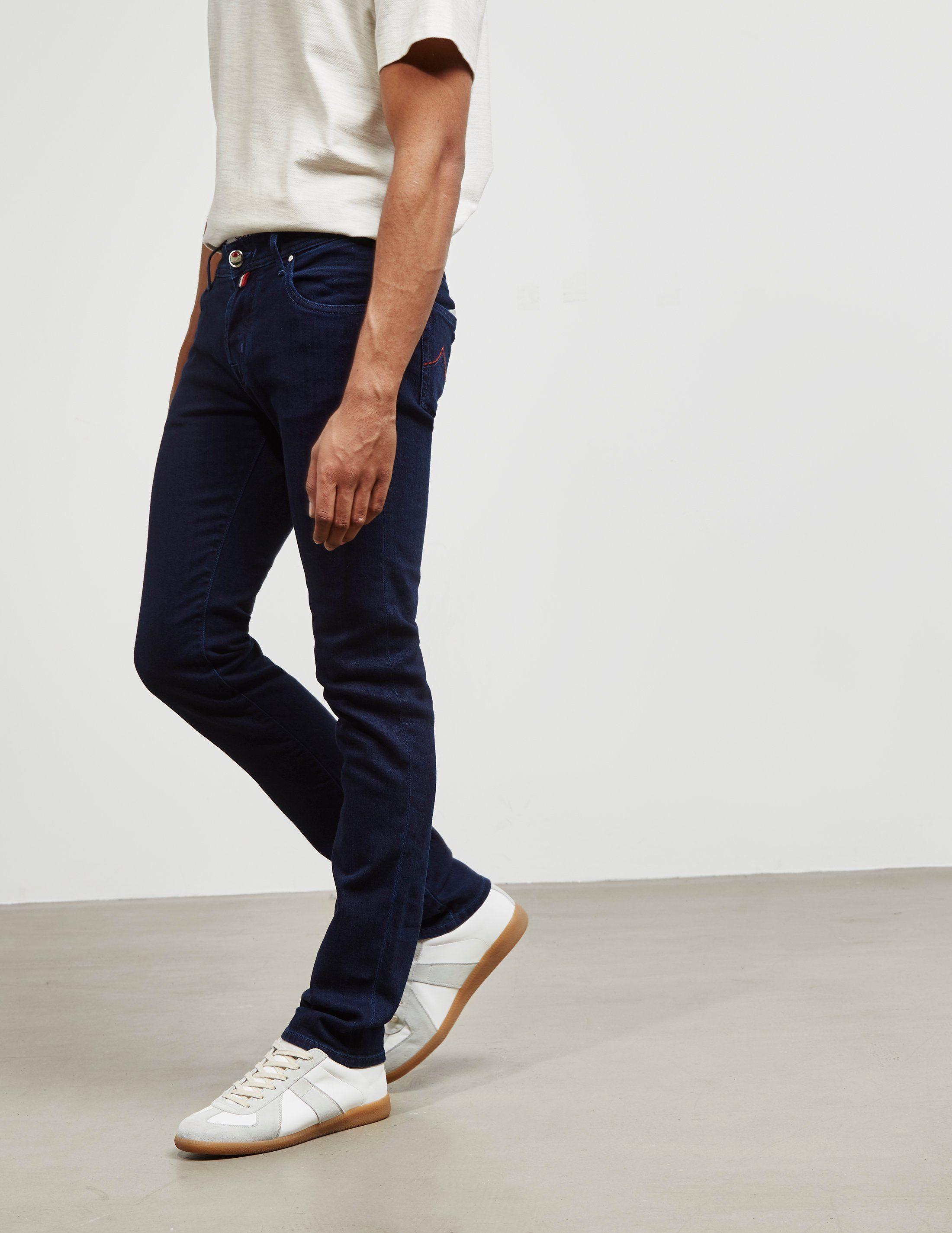 Jacob Cohen 622 Colour Stitch Skinny Jeans