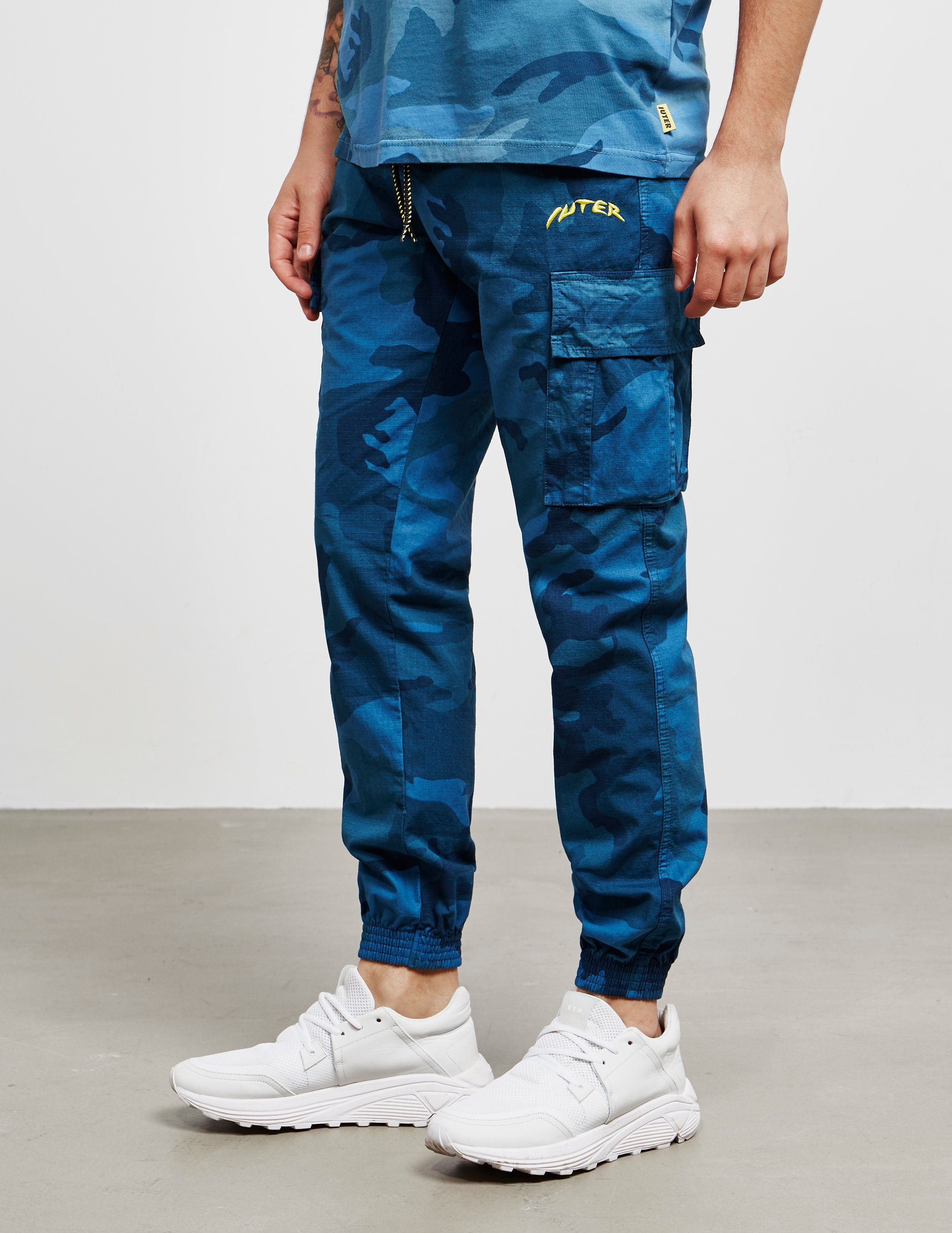 IUTER Camouflage Track Pants