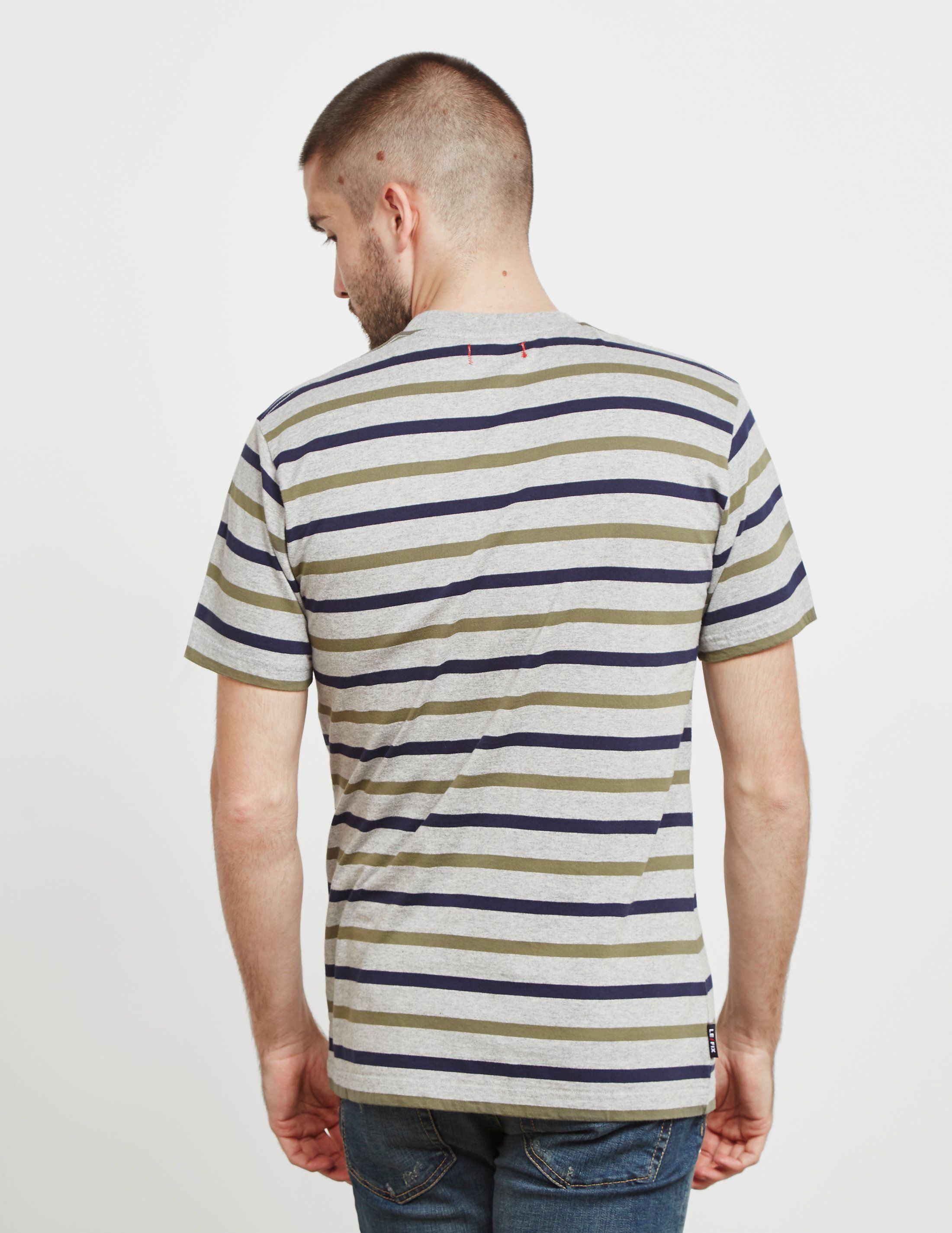 Le Fix Stripe Short Sleeve T-Shirt