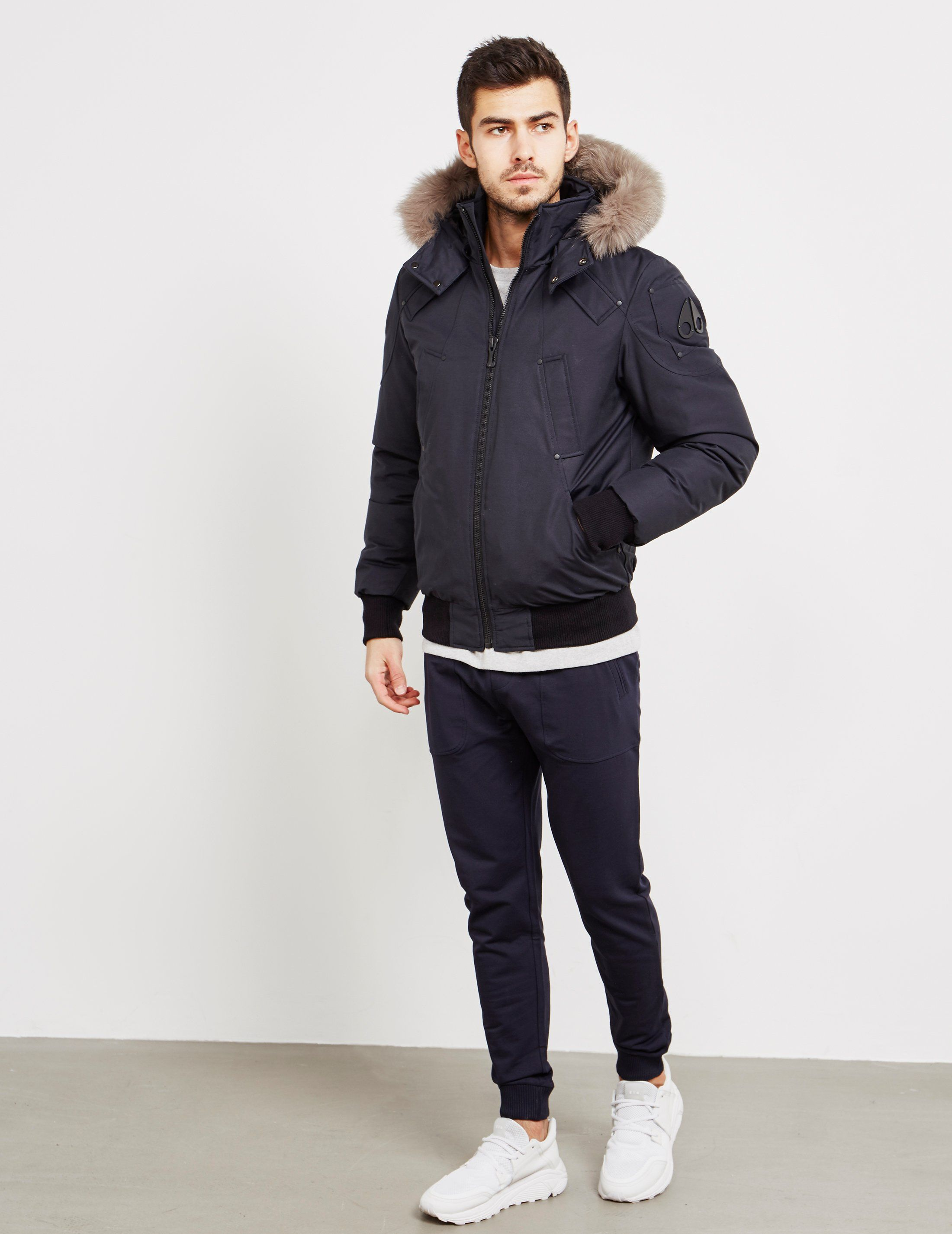 Moose Knuckles Padded Bomber Jacket