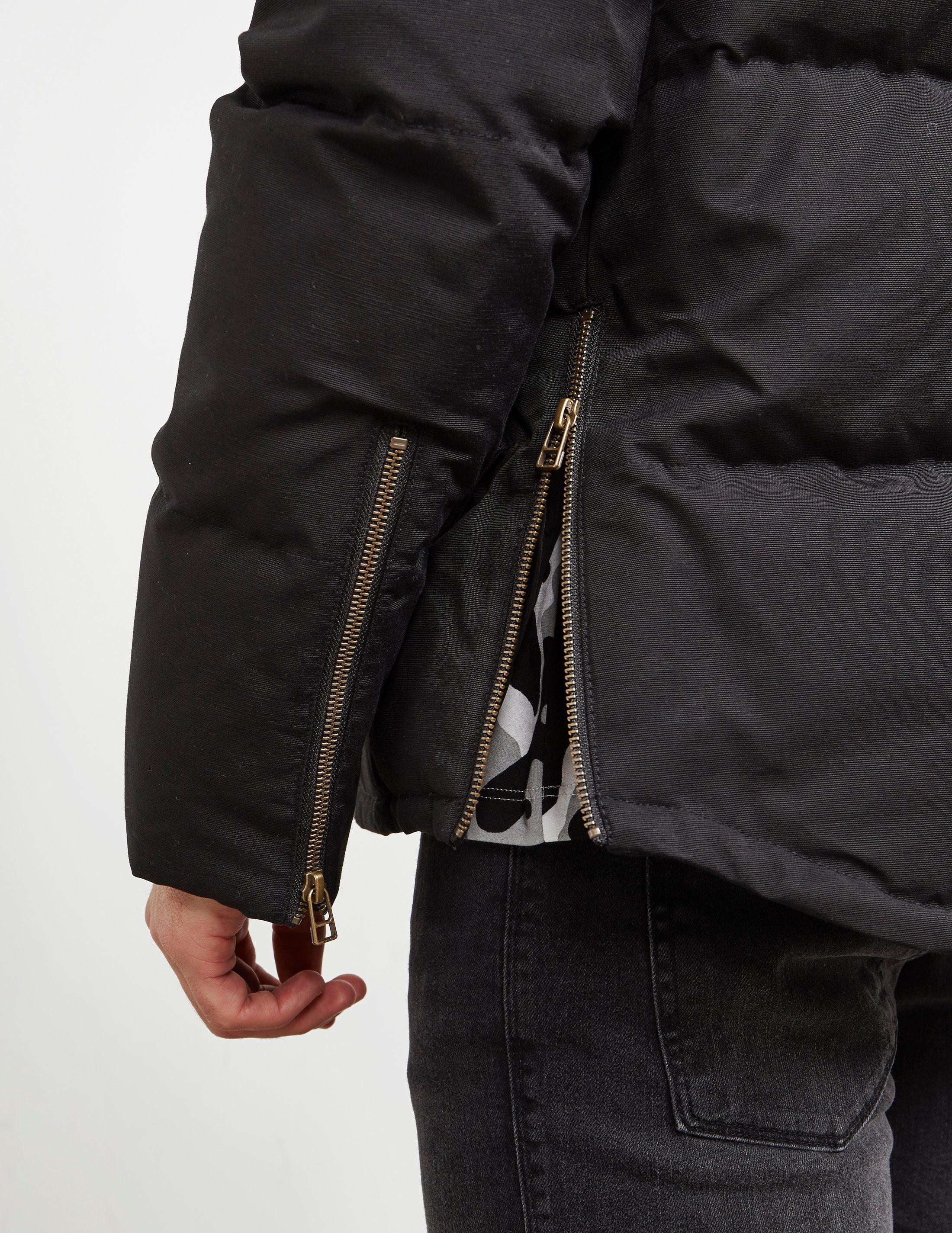 Moose Knuckles Short Parka Jacket