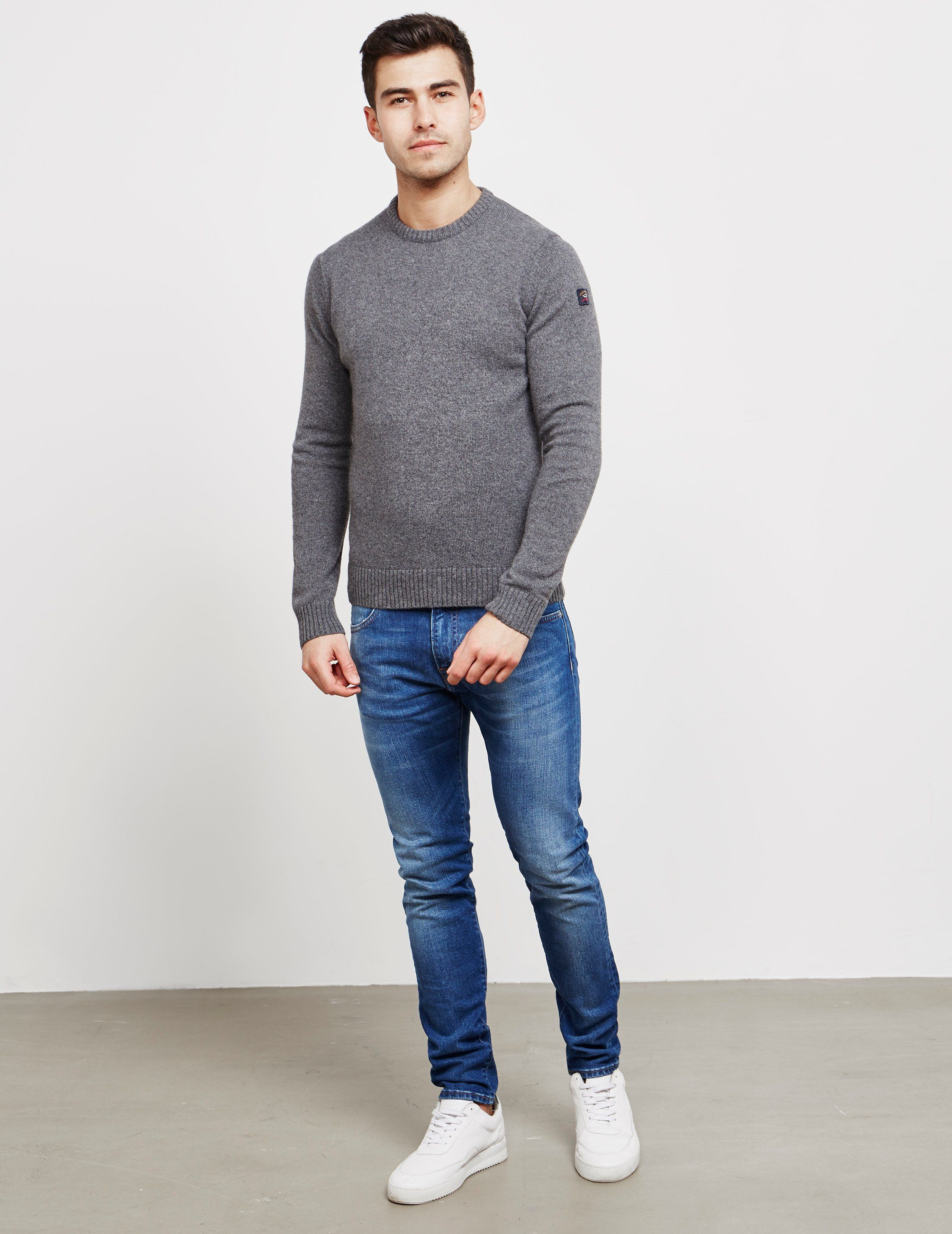 Paul and Shark Lambs Wool Jumper