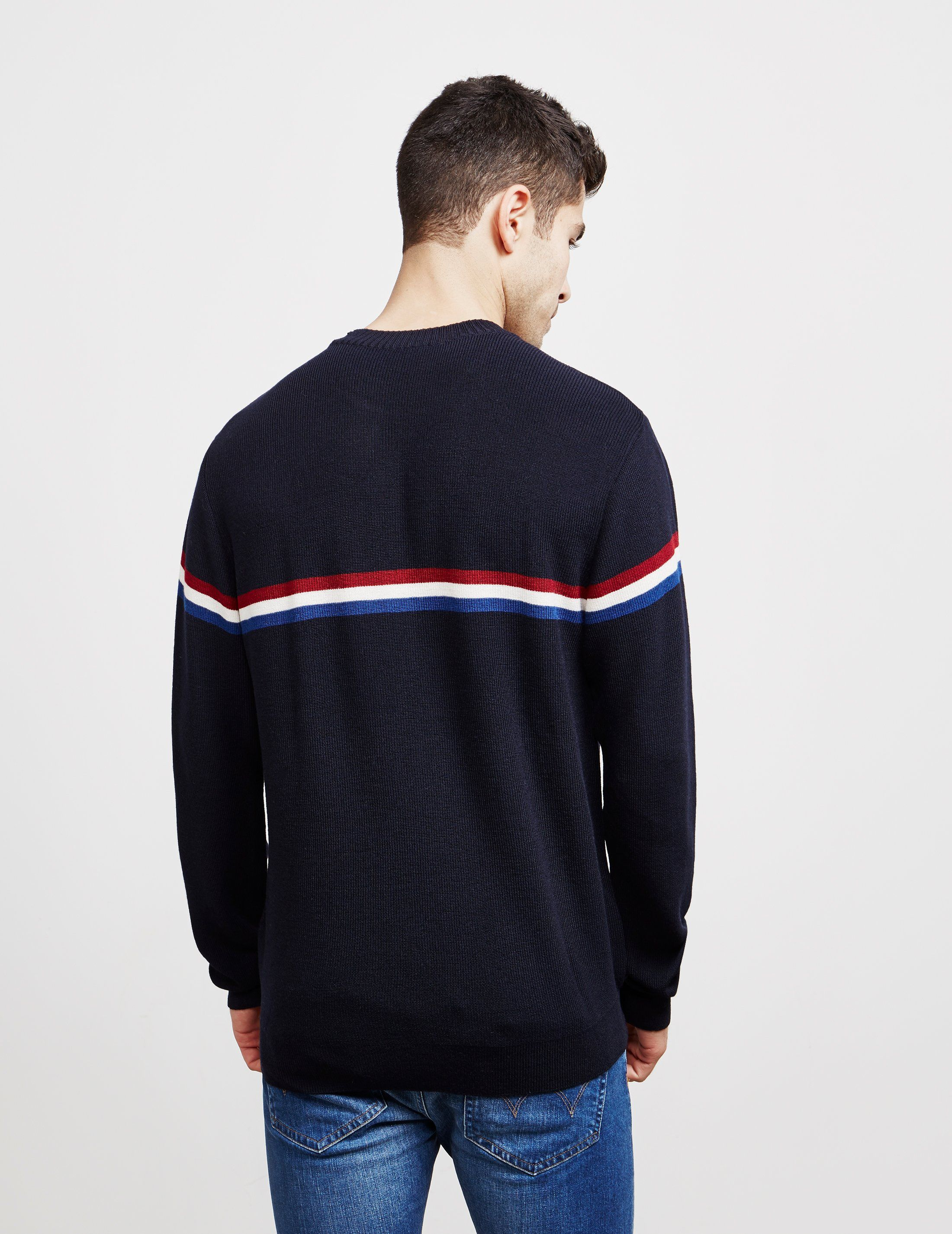 Paul and Shark Stripe Knitted Jumper