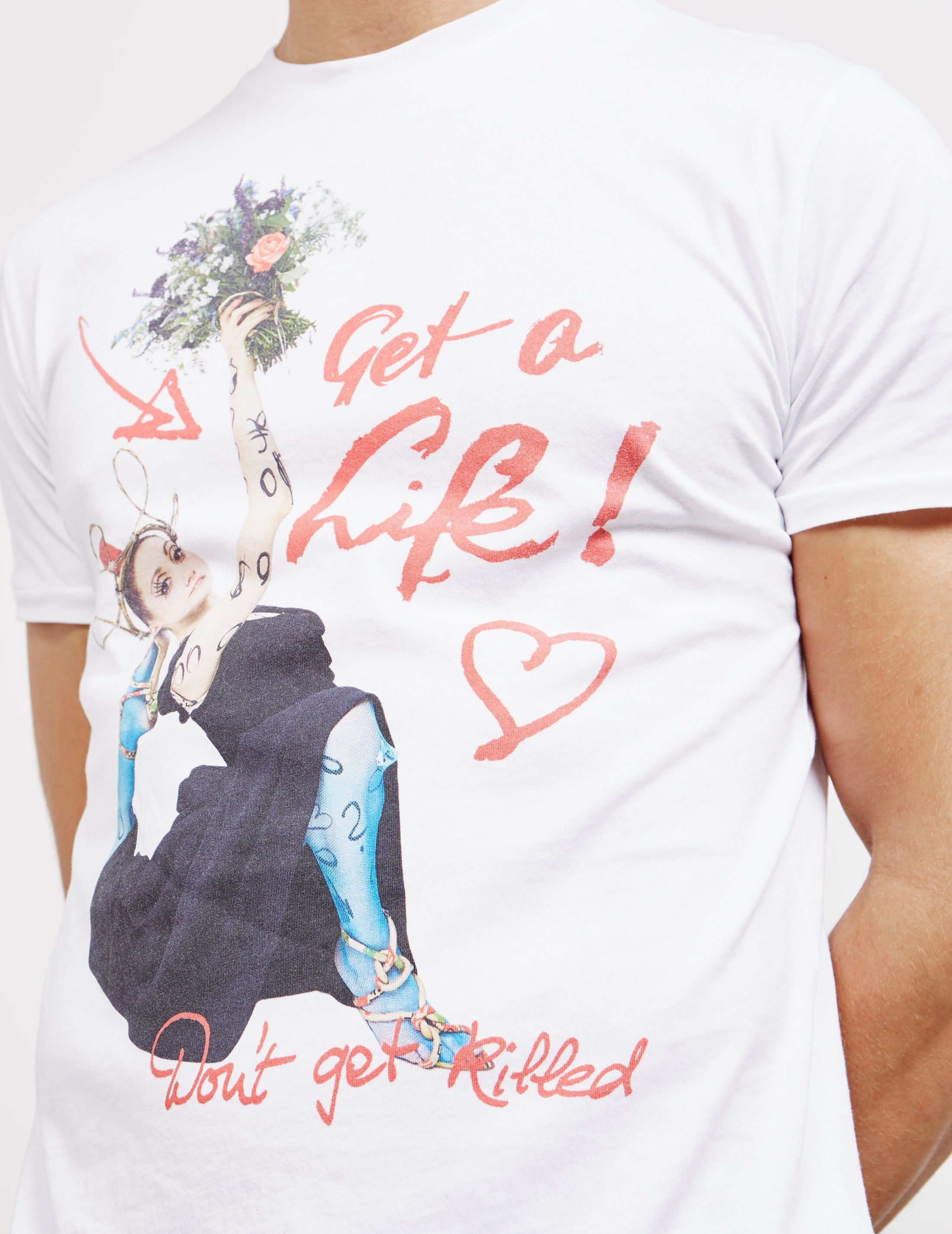 Vivienne Westwood Get A Life Short Sleeve T-Shirt