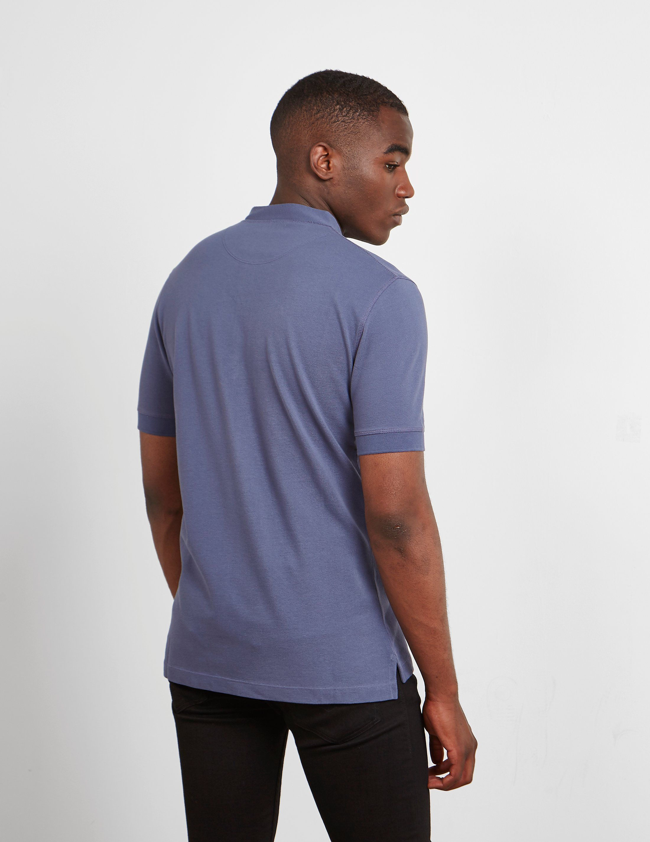 Vivienne Westwood Grandad Collar Short Sleeve Polo Shirt
