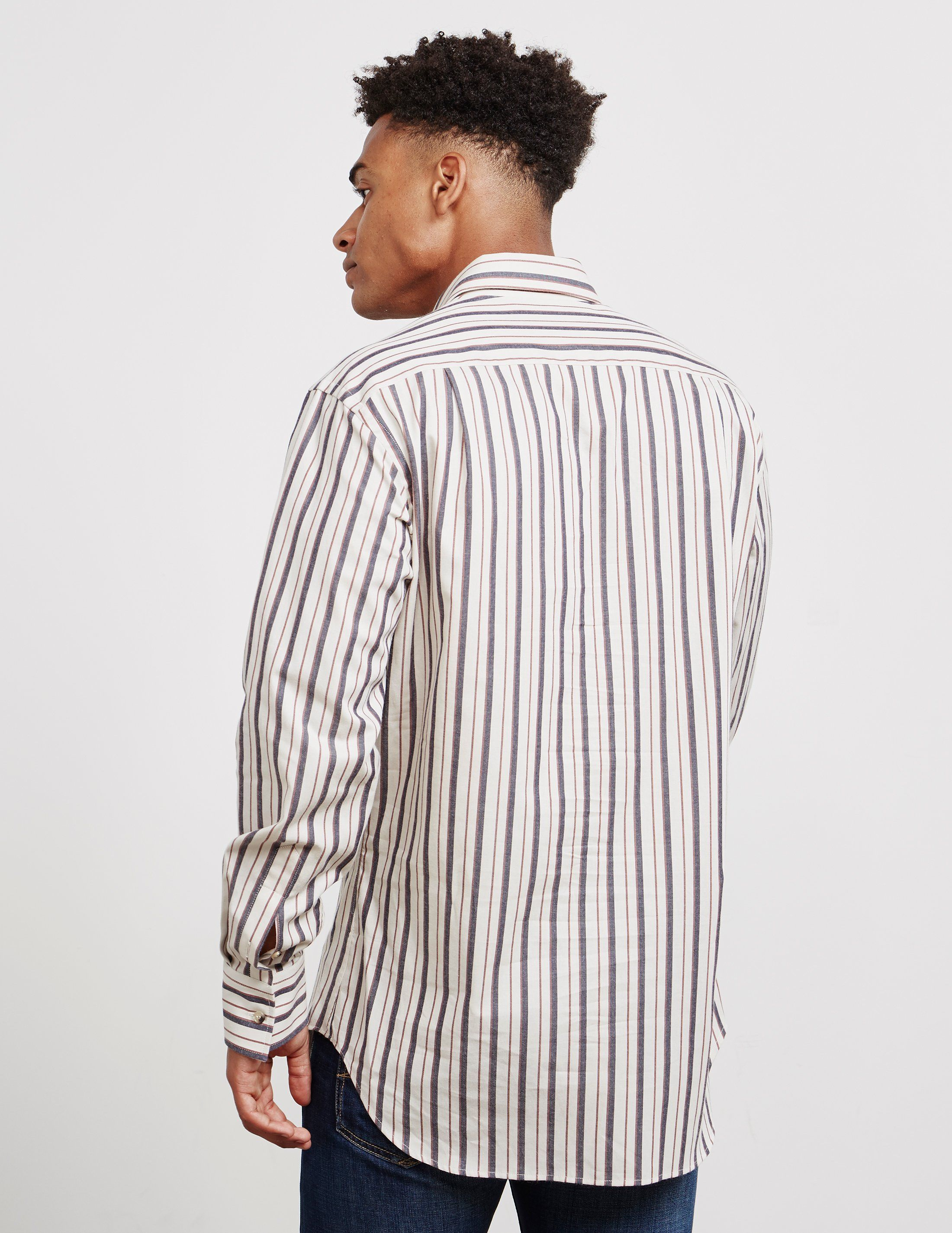 Vivienne Westwood Stripe Long Sleeve Shirt