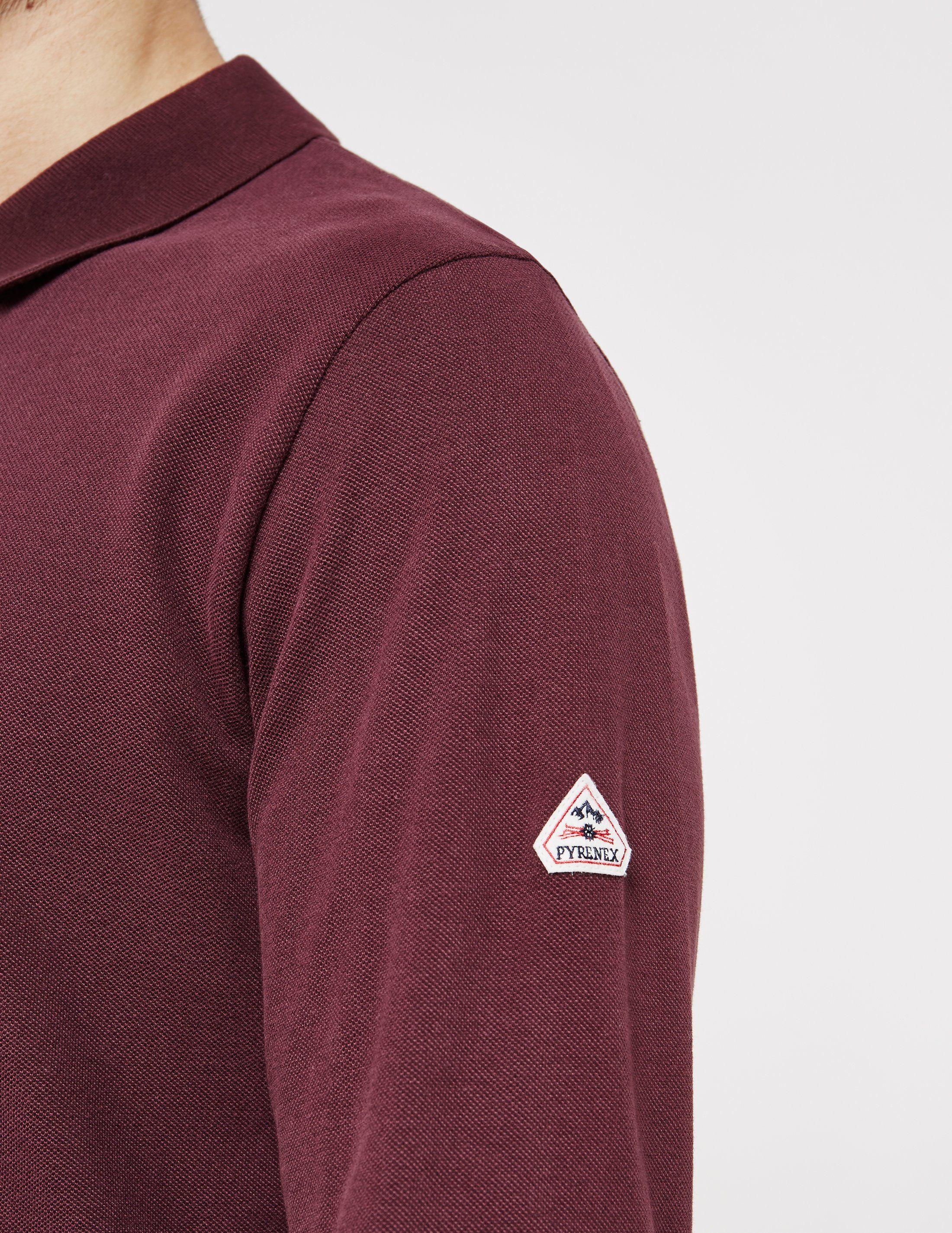 Pyrenex Laurel Long Sleeve Polo Shirt