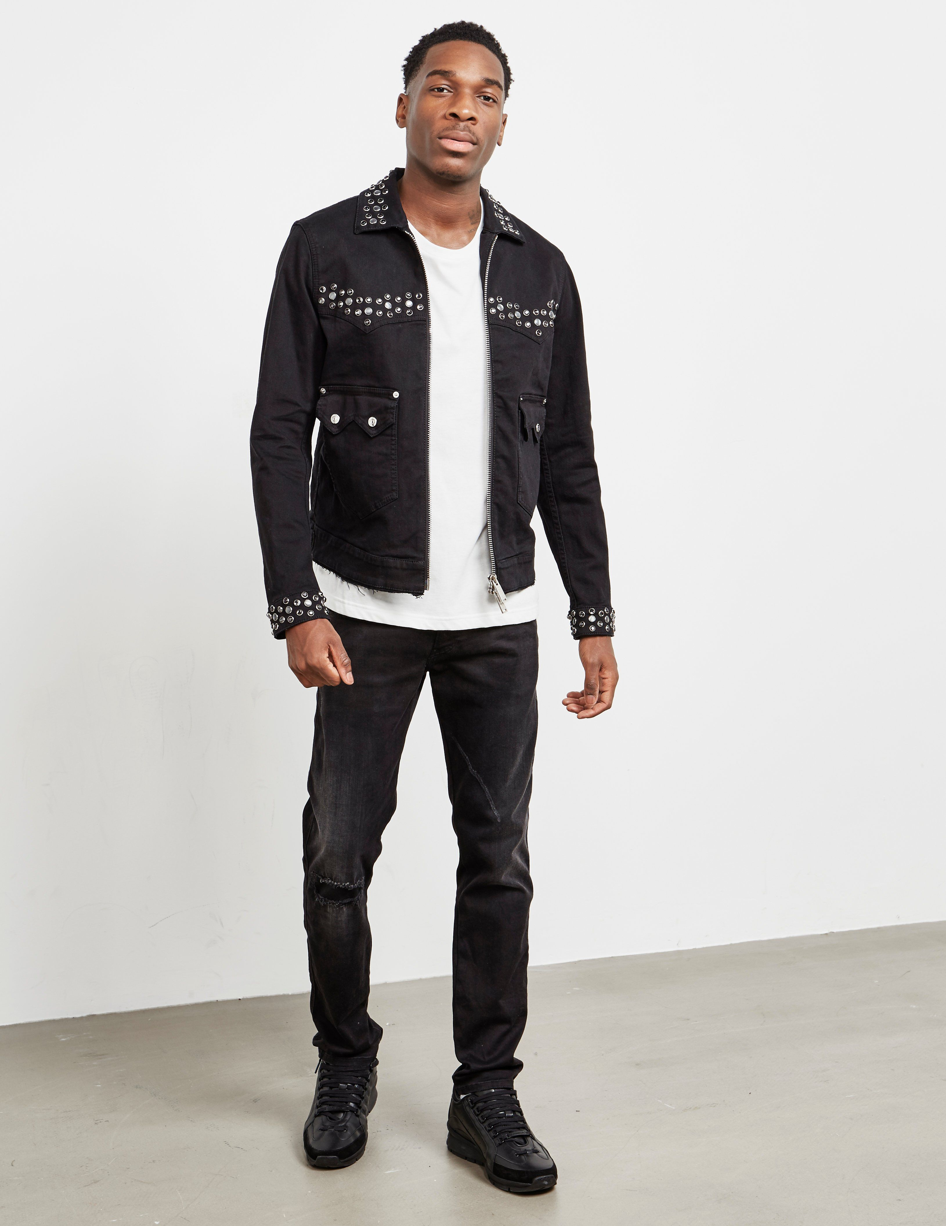 Dsquared2 Studded Denim Jacket - Online Exclusive