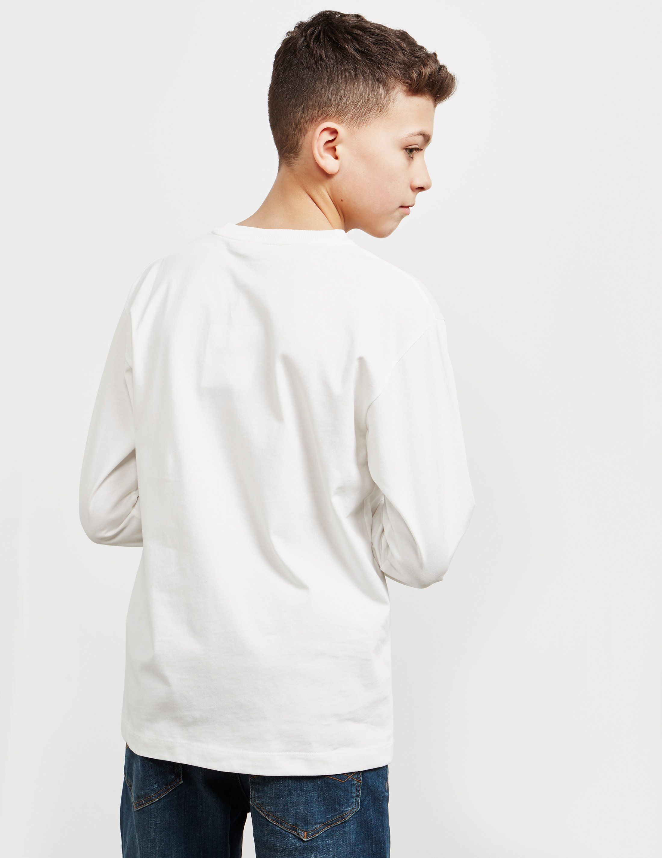 Moschino Large Peace Long Sleeve T-Shirt