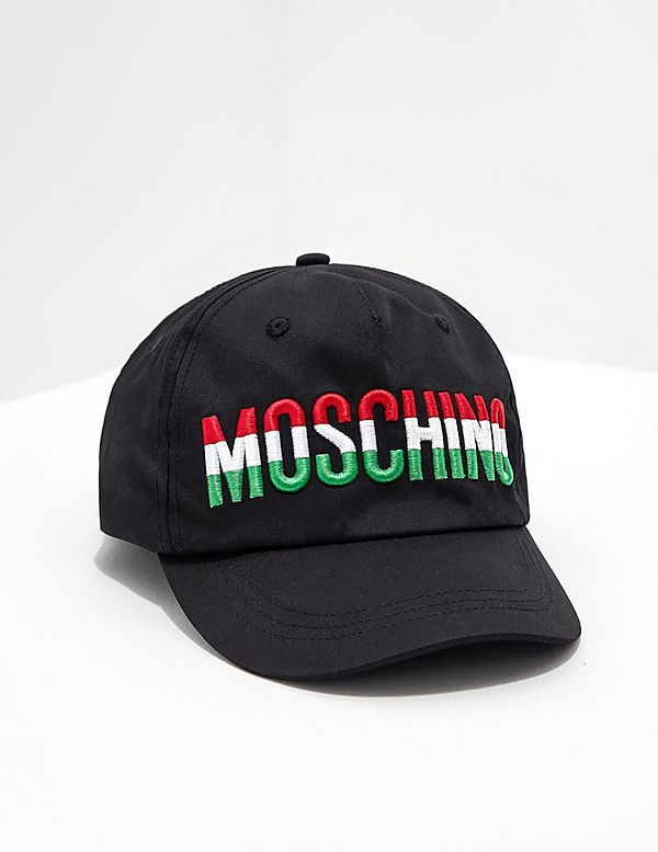 daf0d1d6cce Moschino Tri Colour Cap - Online Exclusive