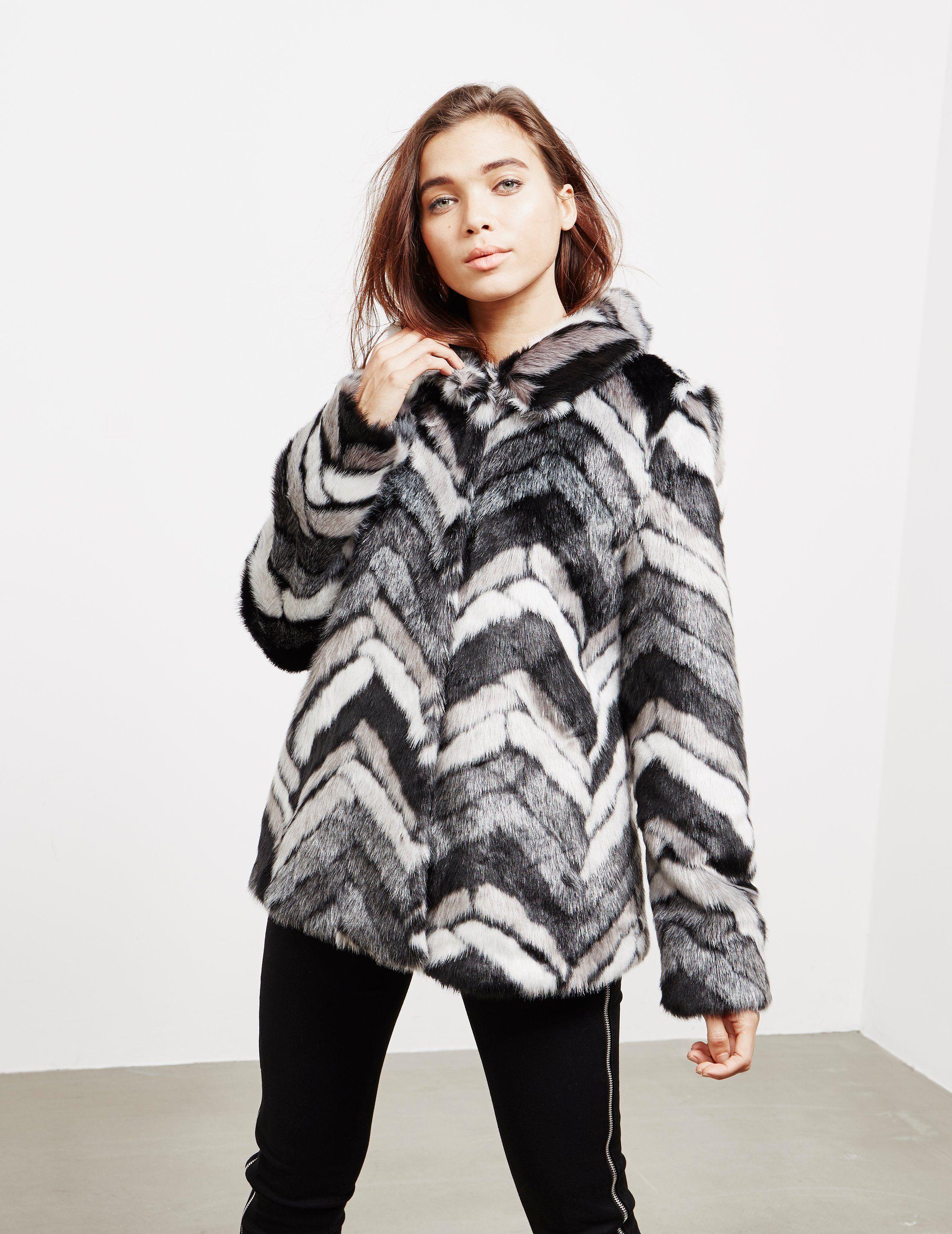 DKNY Faux Fur Jacket - Online Exclusive