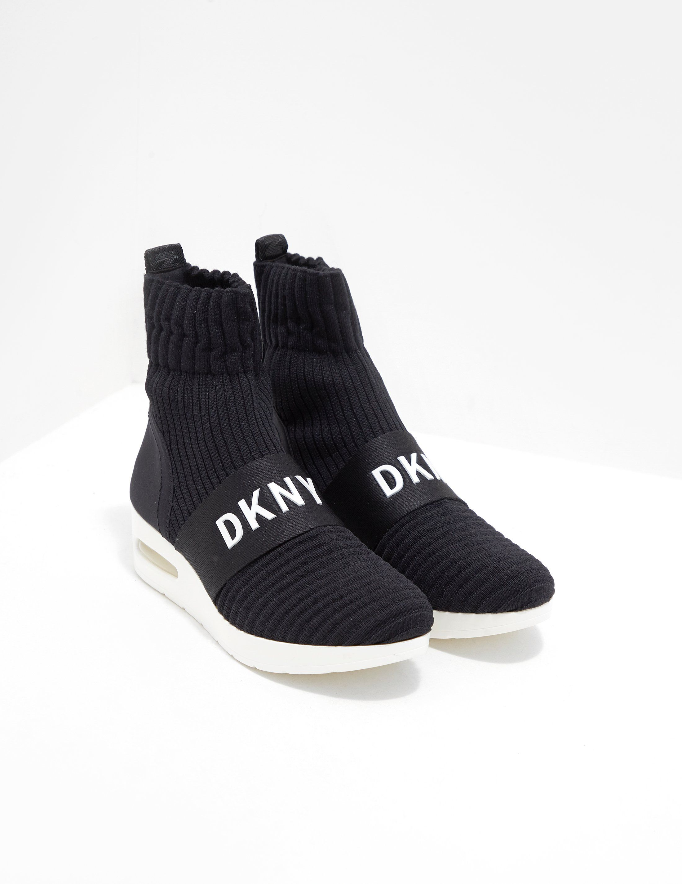 DKNY Anna Slip On Wedge Trainers