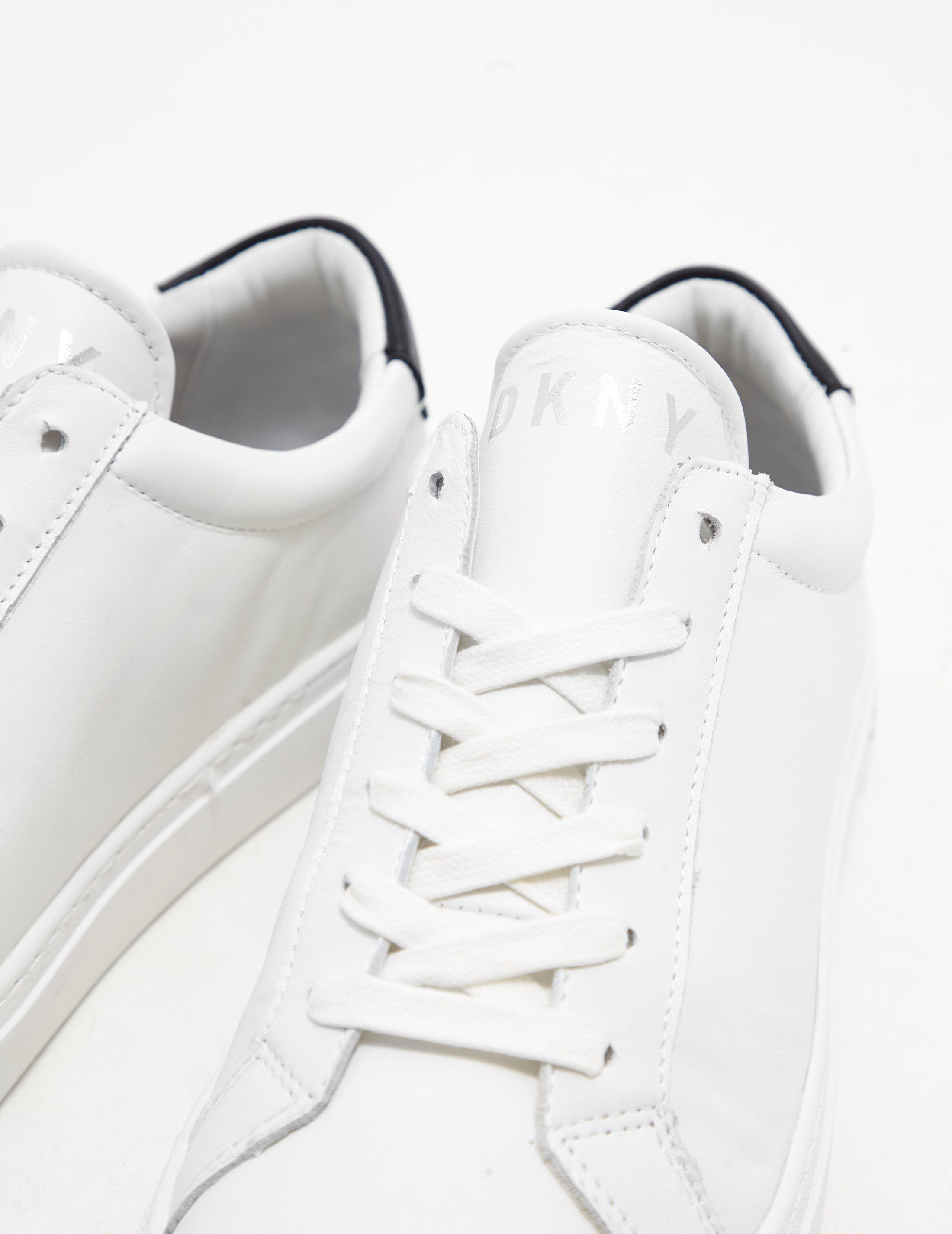 DKNY Court Lace Up Trainers