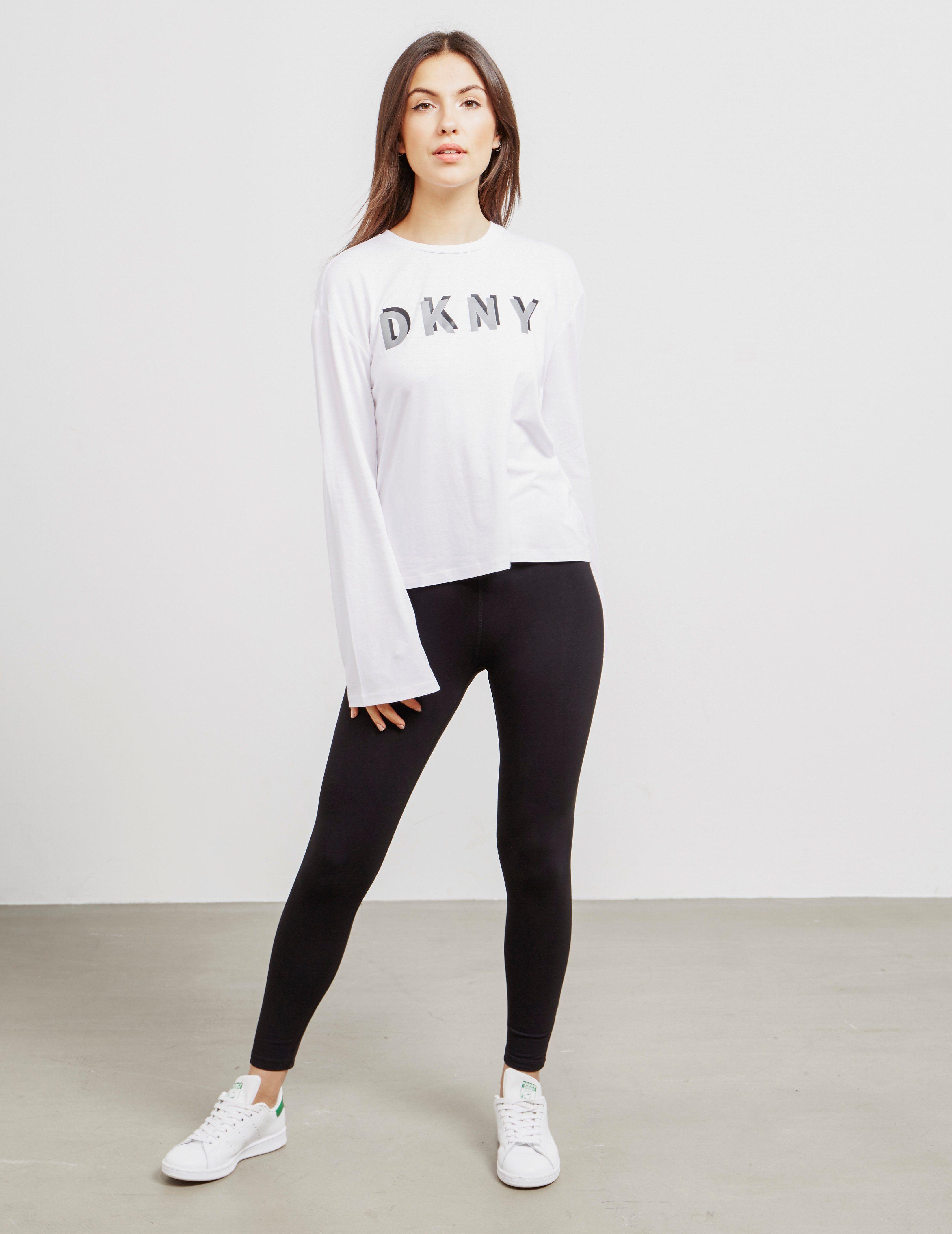 DKNY Boxy Long Sleeve T-Shirt