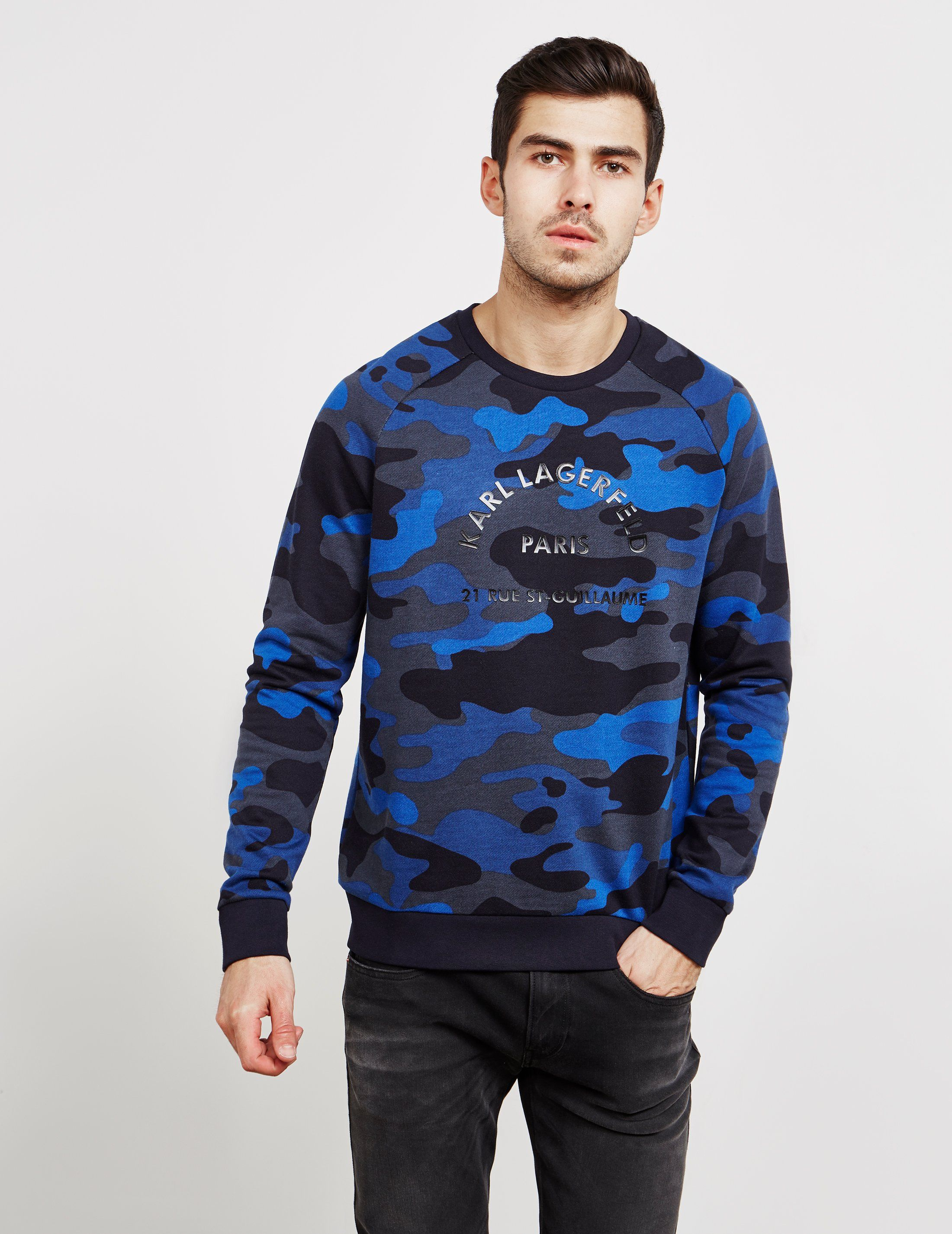 Karl Lagerfeld Camouflage Sweatshirt