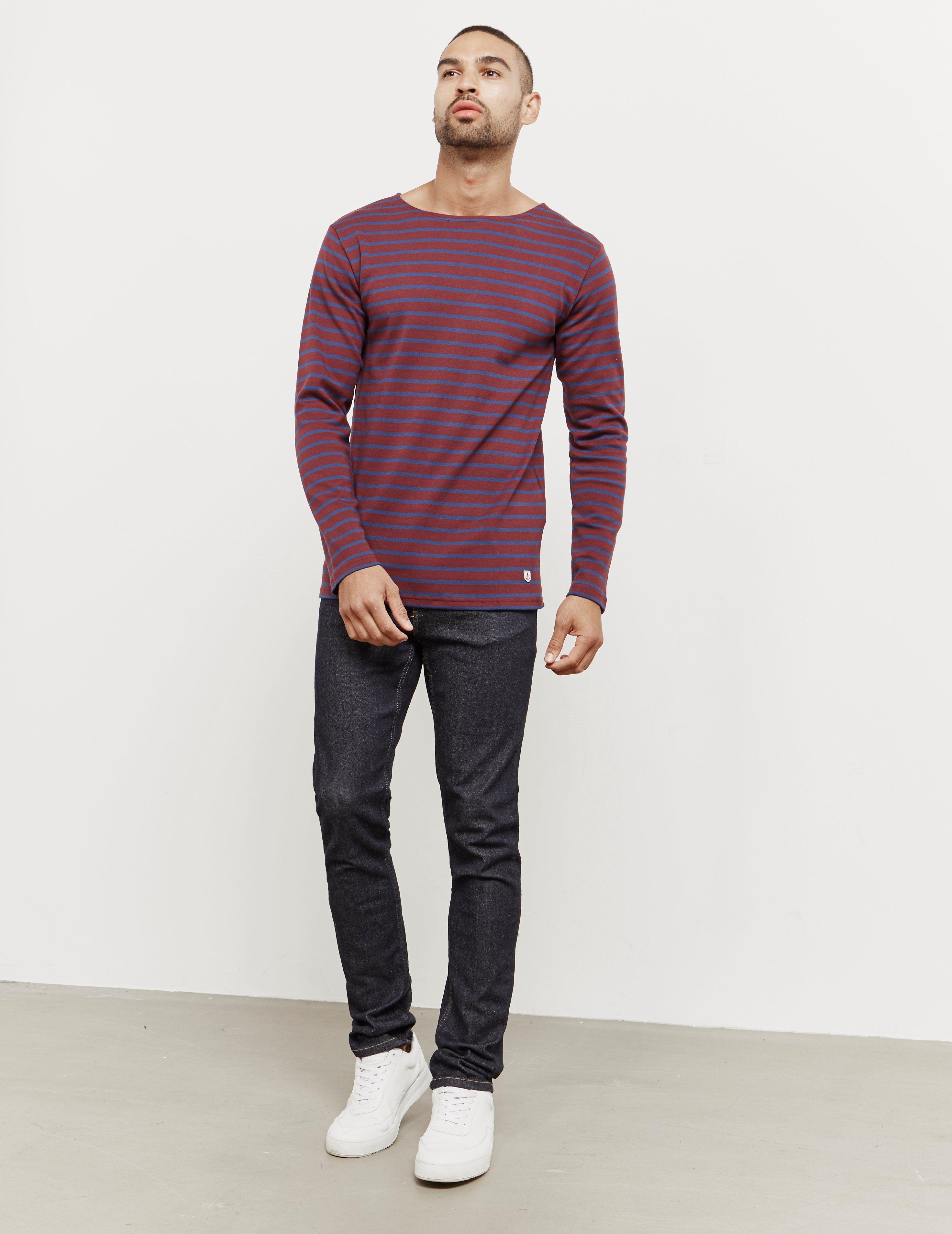 Armor Lux Stripe Long Sleeve T-Shirt
