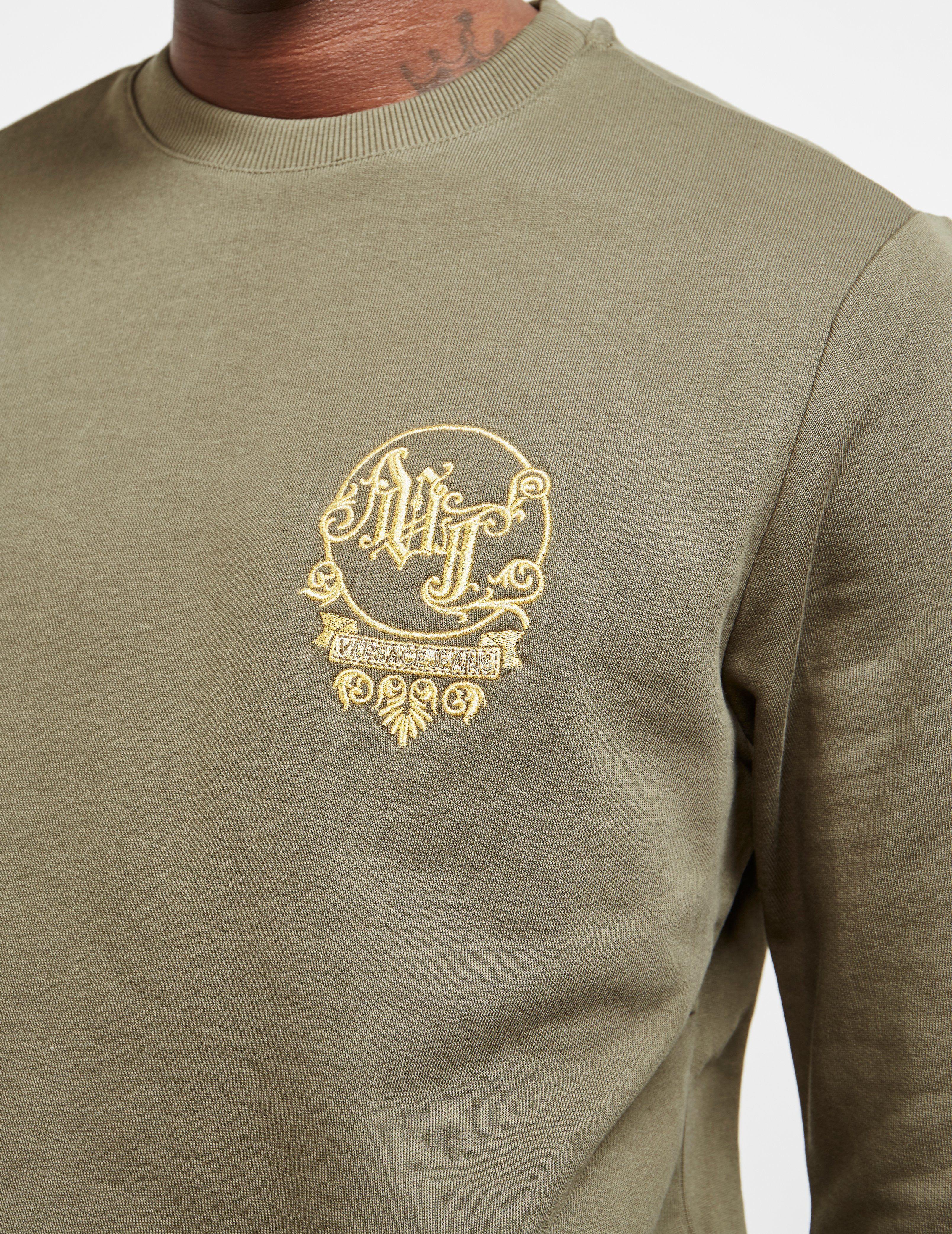 Versace Jeans Stitch Logo Sweatshirt
