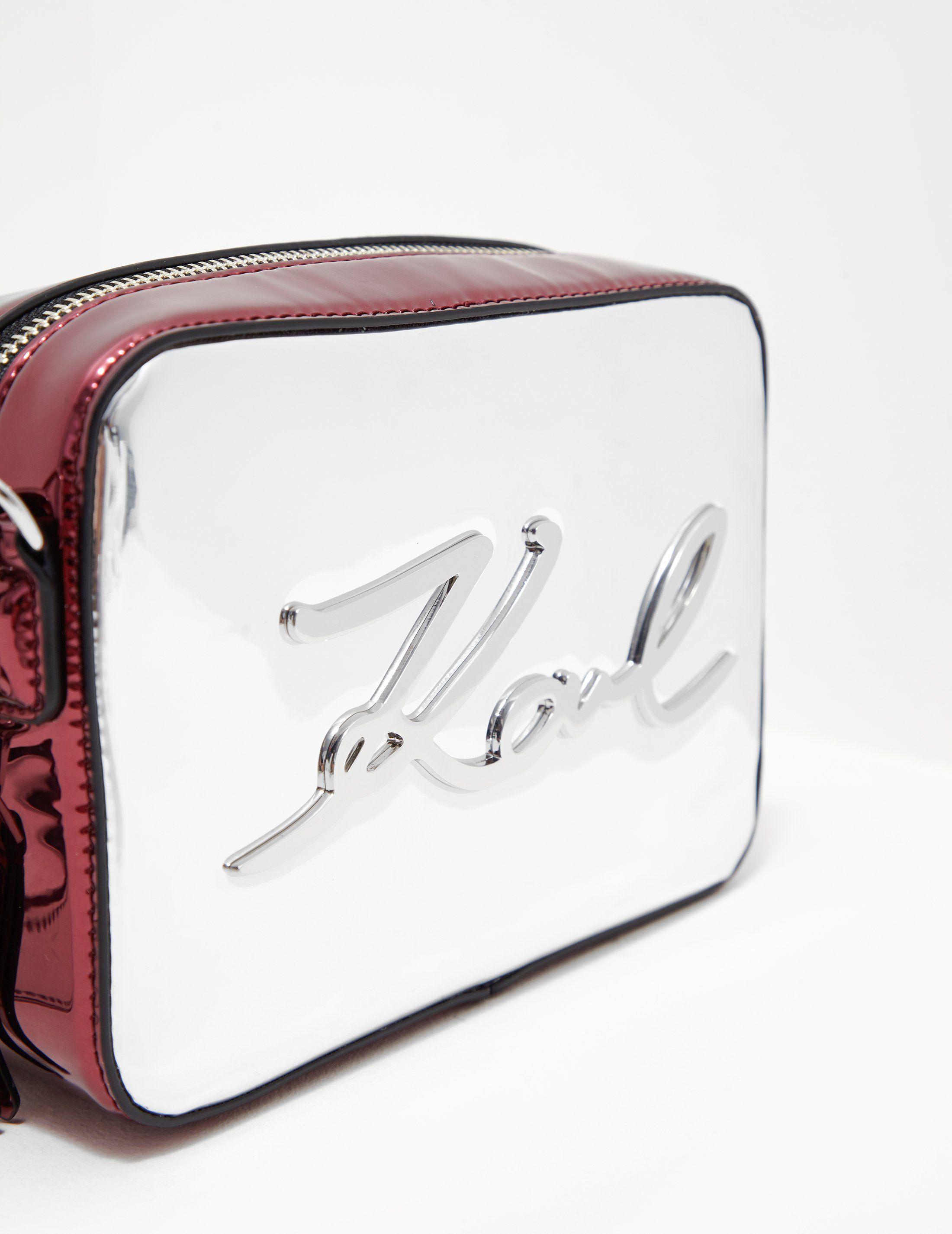 Karl Lagerfeld Gloss Shoulder Bag