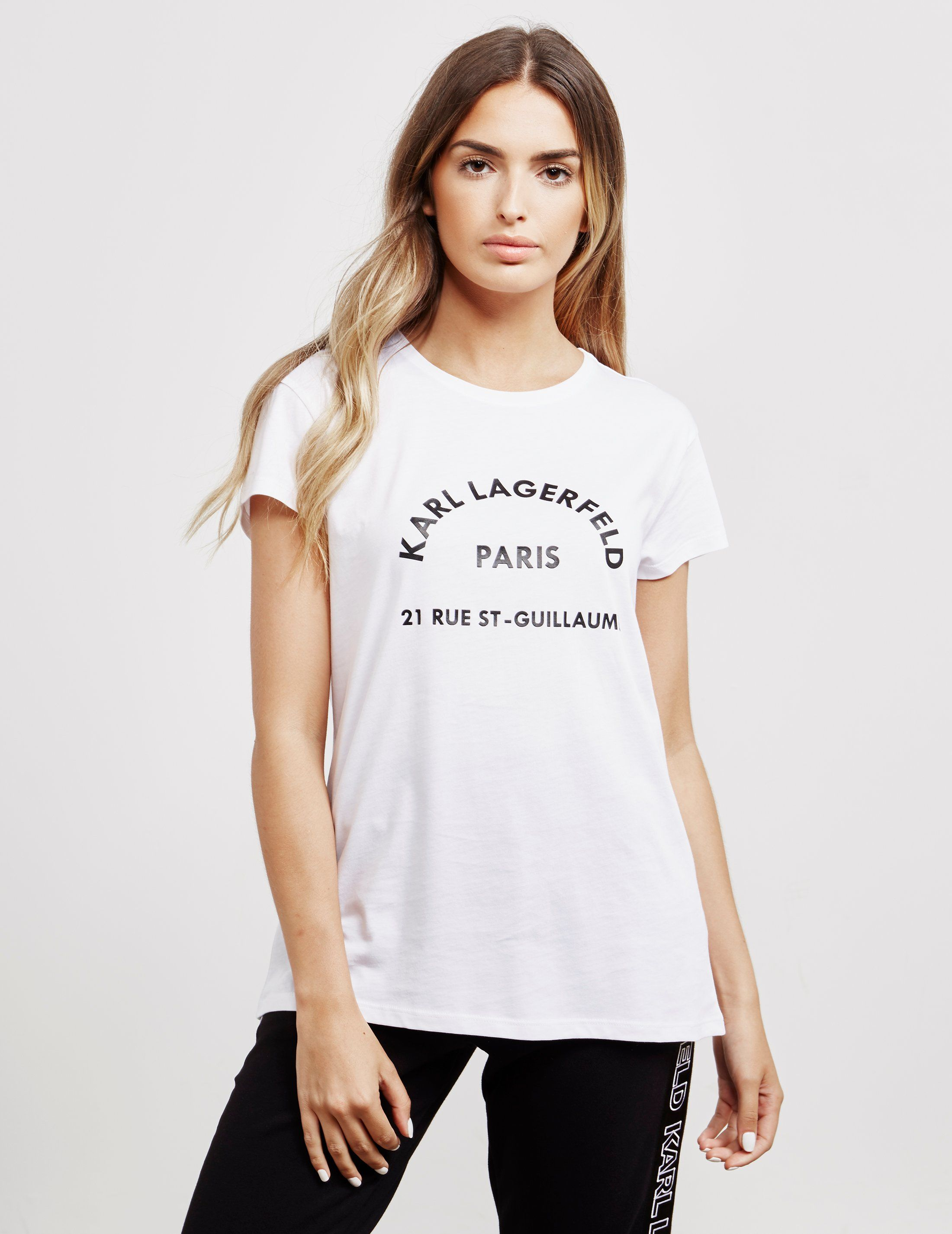 Karl Lagerfeld Address Short Sleeve T-Shirt