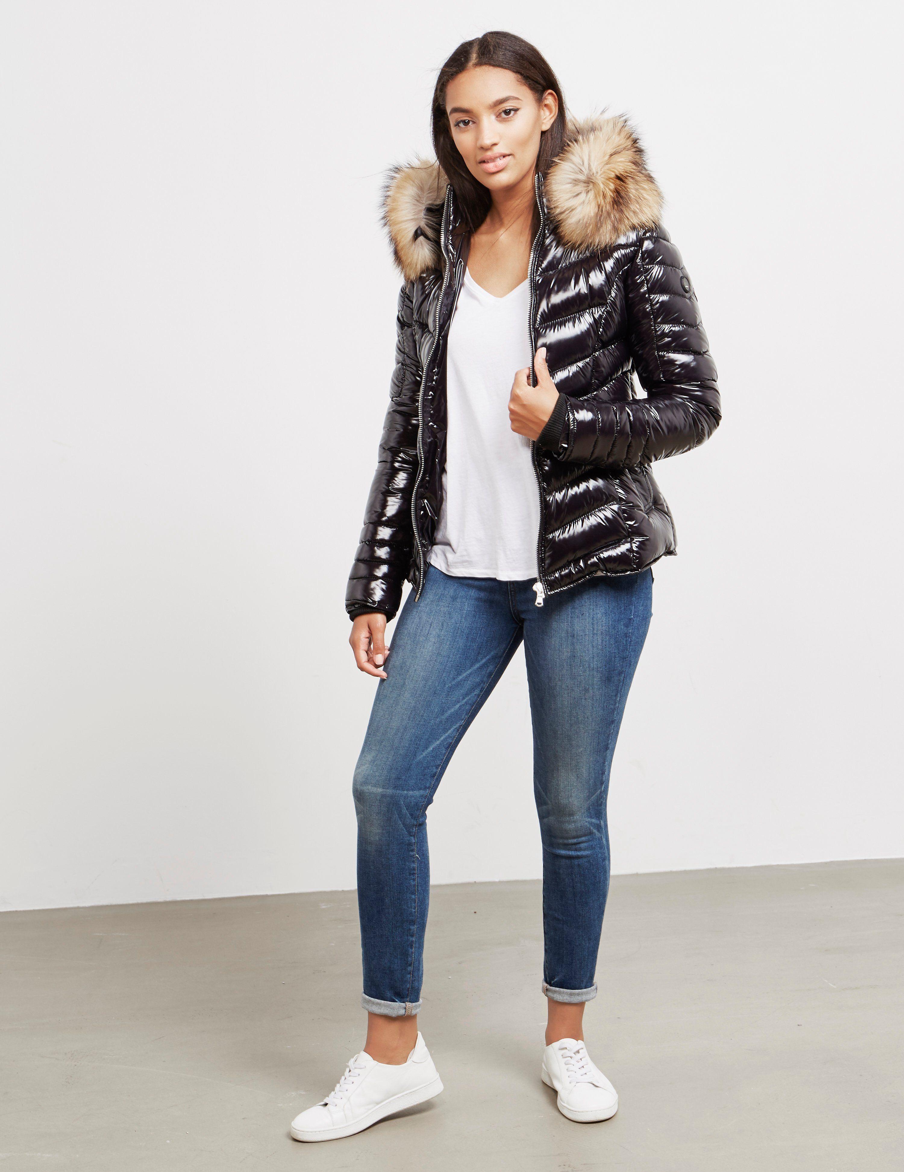 Froccella Glossy Chevron Jacket