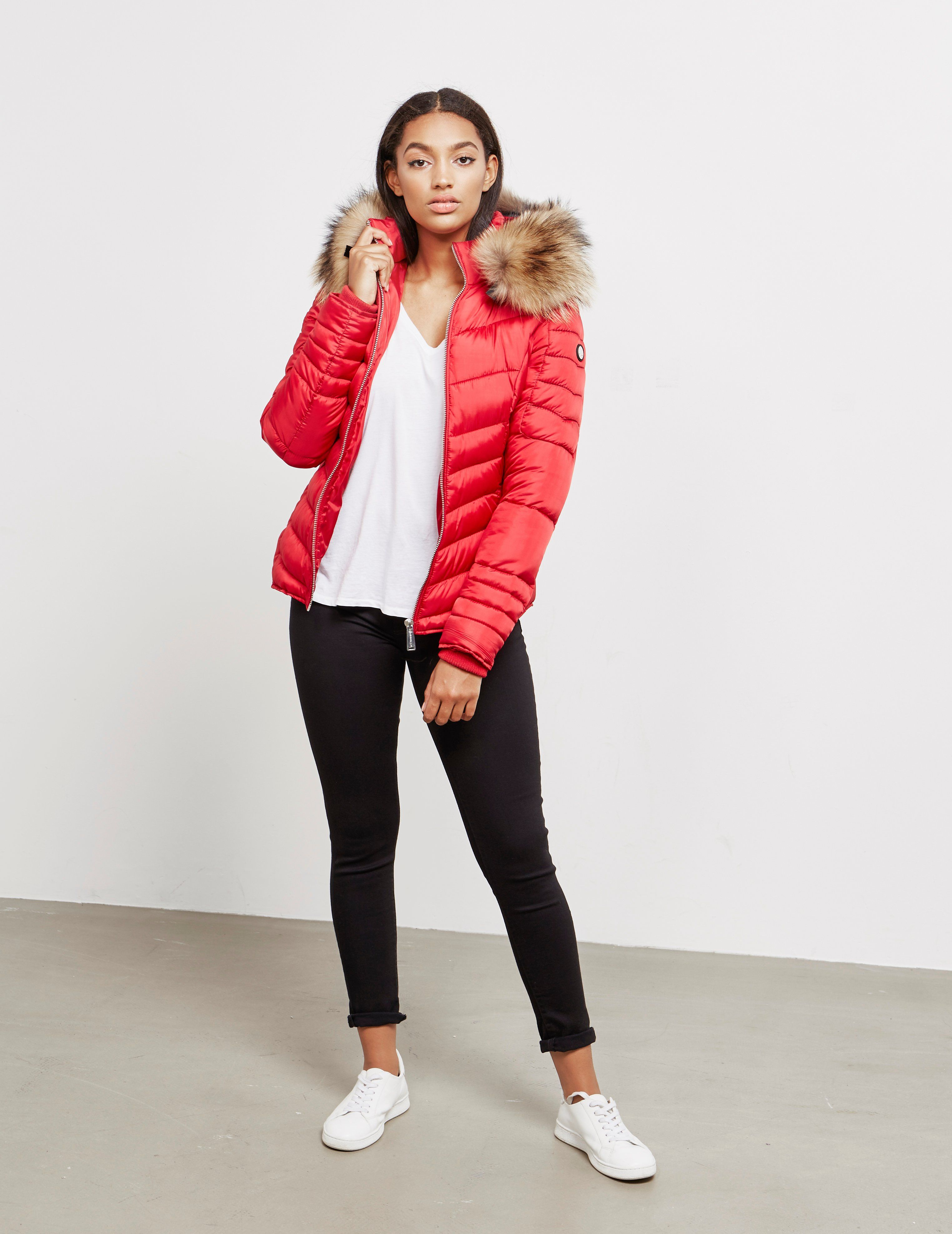 Froccella Chevron Bomber Jacket