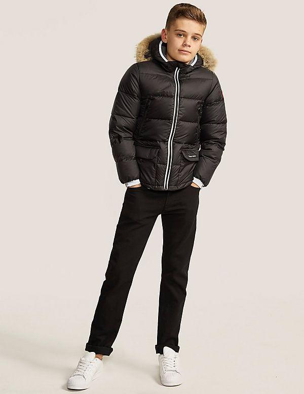 canada goose junior black oliver jacket
