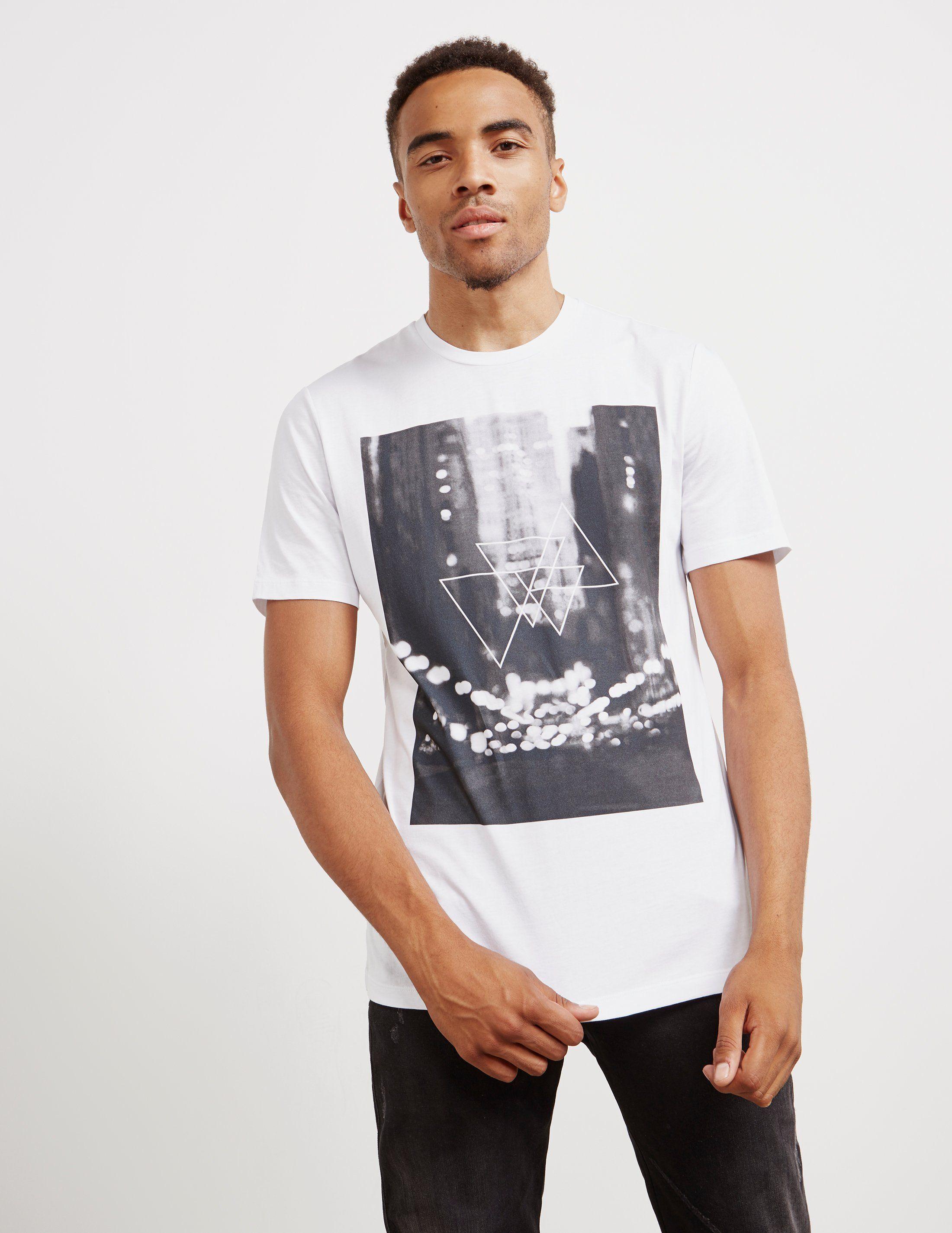 Pal Zileri Blur City Short Sleeve T-Shirt