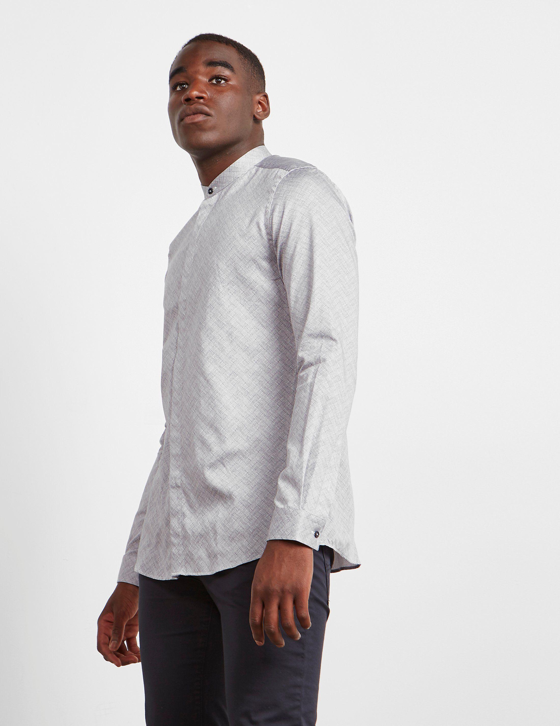 Pal Zileri Nehru Long Sleeve Shirt - Online Exclusive