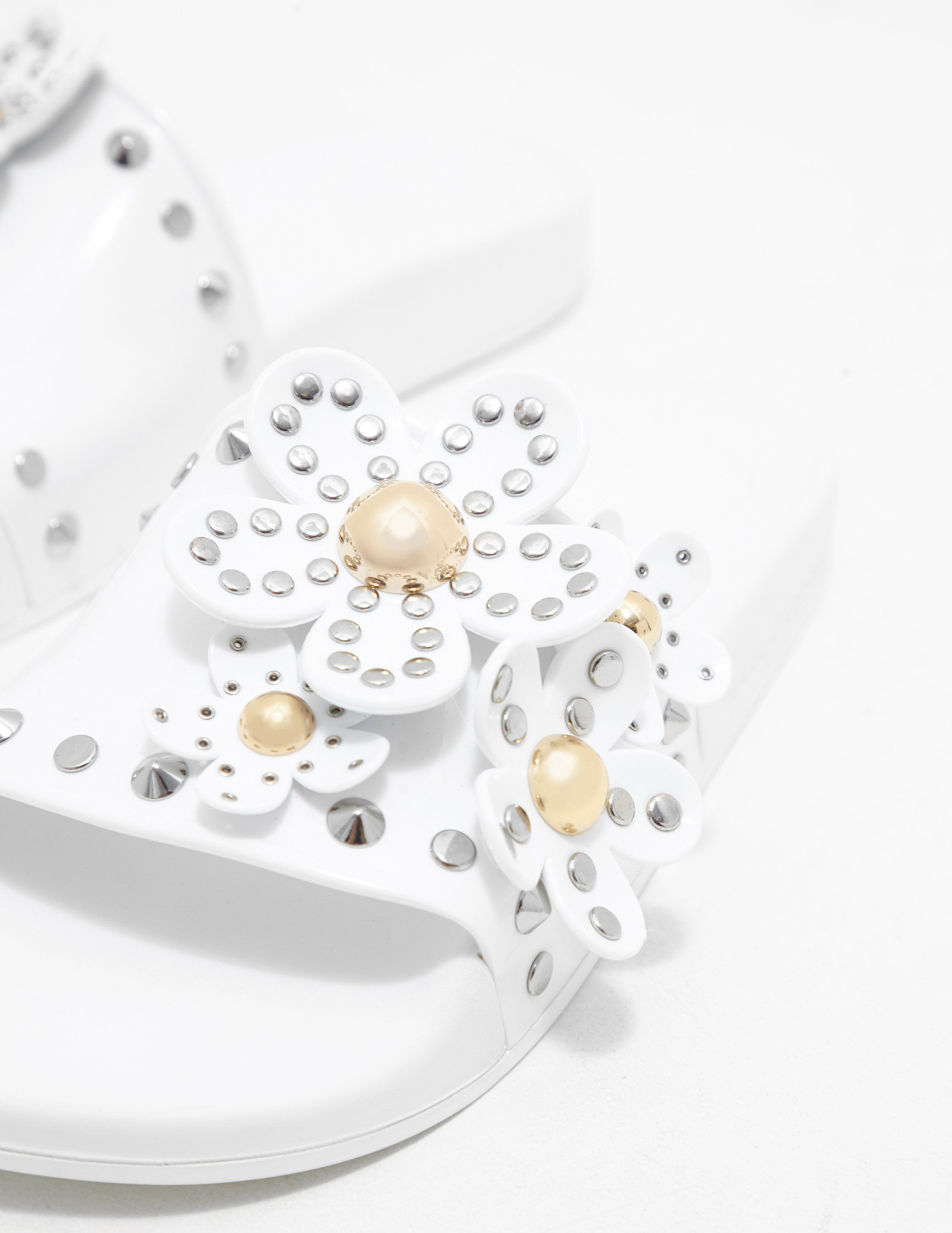 Marc Jacobs Daisy Stud Slides - Online Exclusive