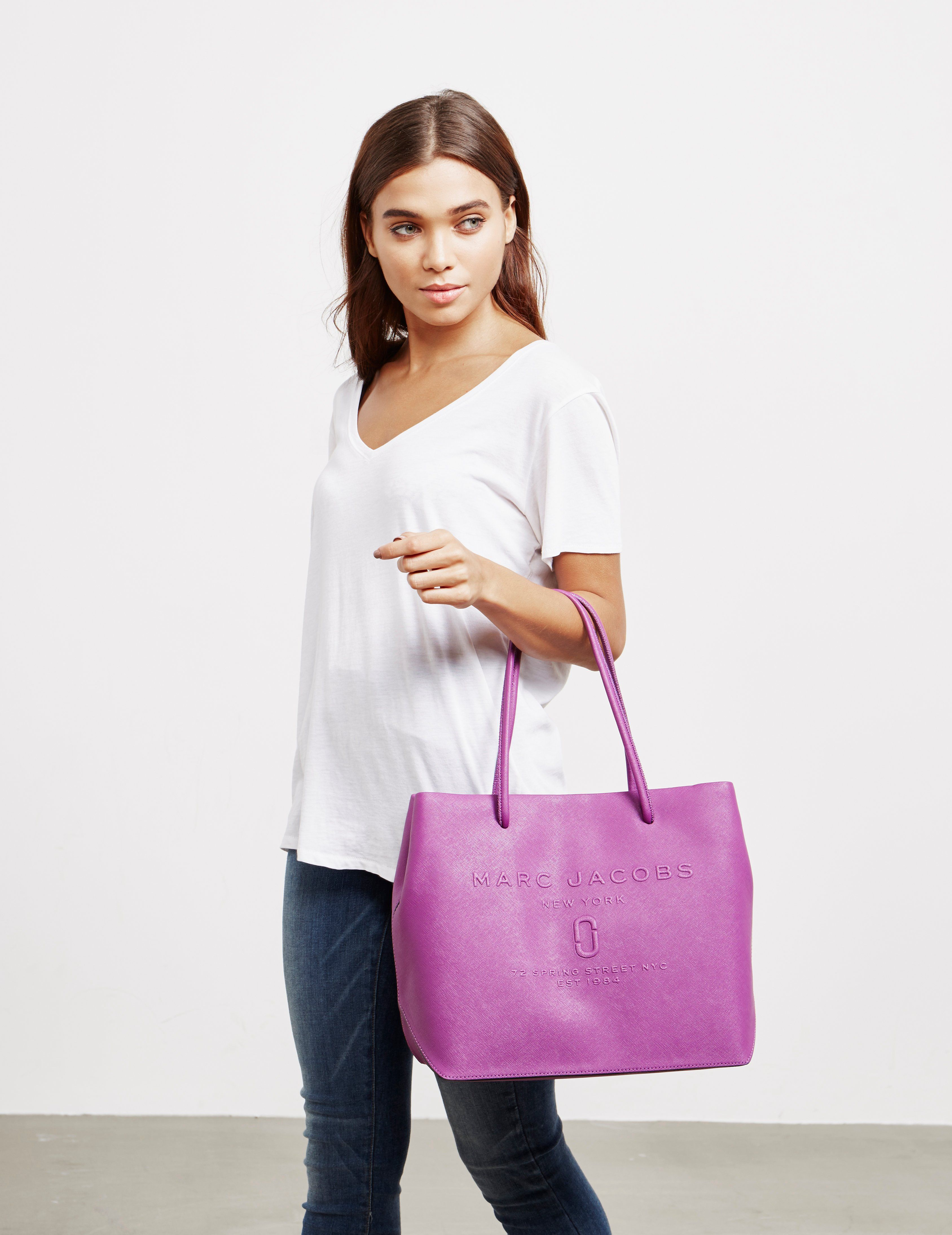 Marc Jacobs Embossed Tote Bag