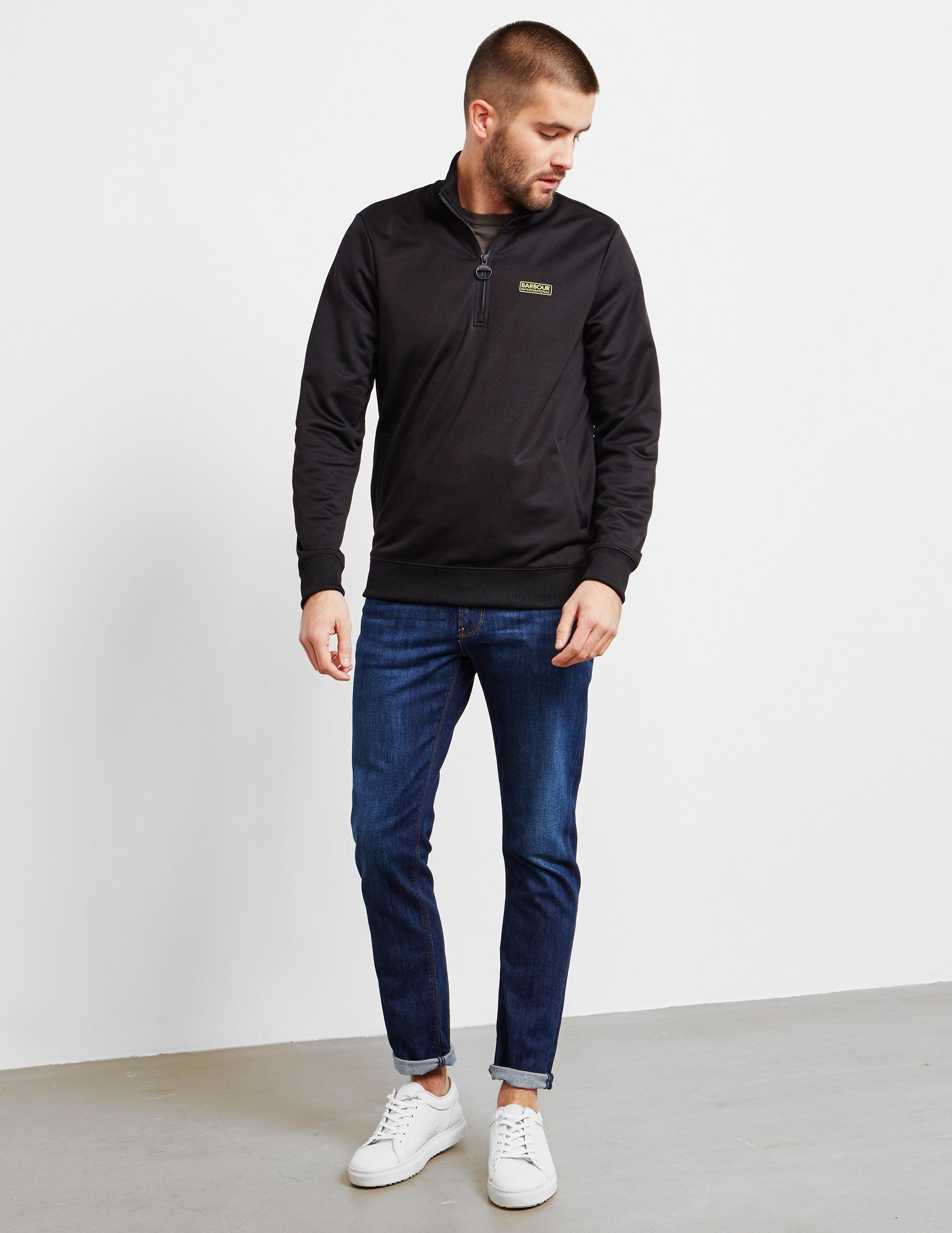 Barbour International Half Zip Track Top