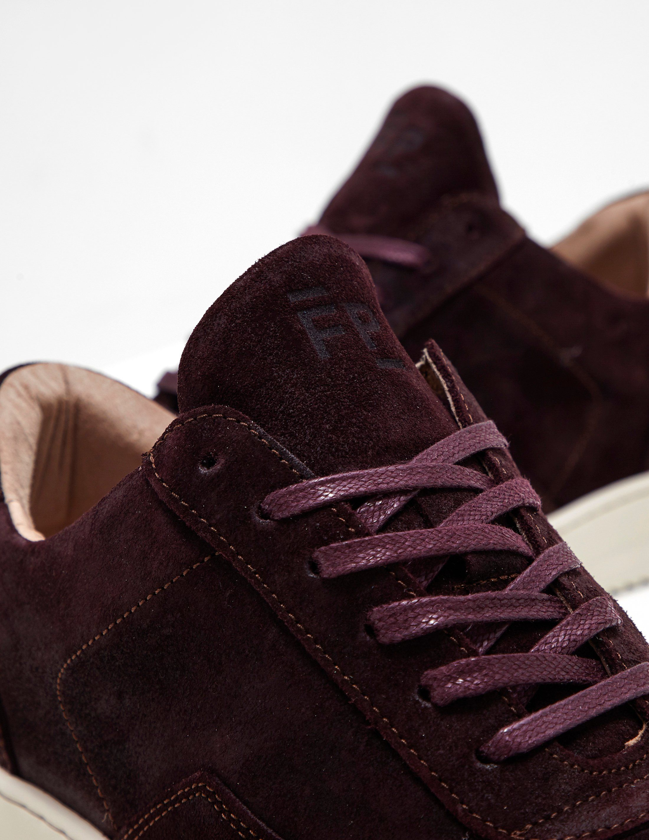 Filling Pieces Nardo Waxed Suede Trainers