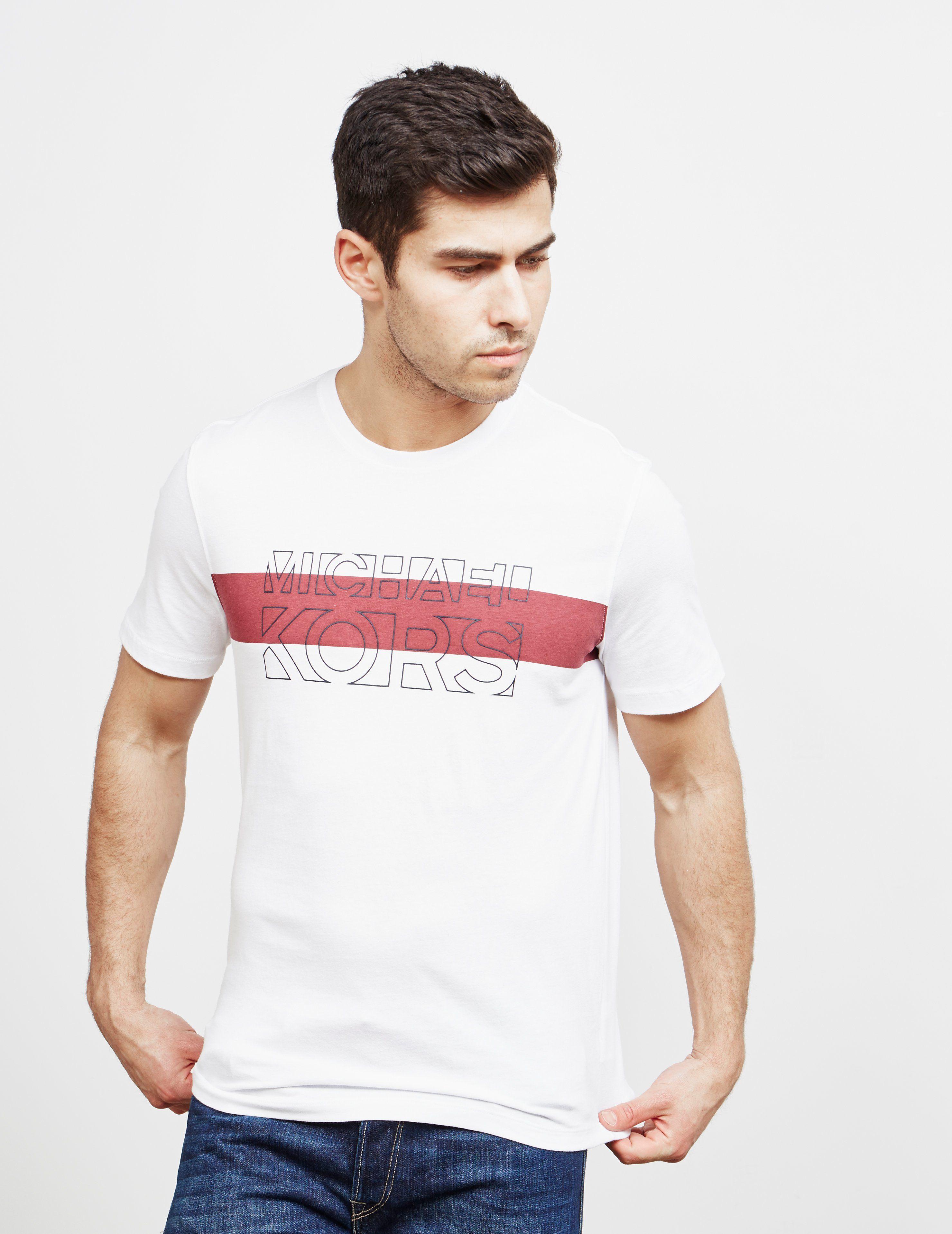 Michael Kors Logo Short Sleeve T-Shirt