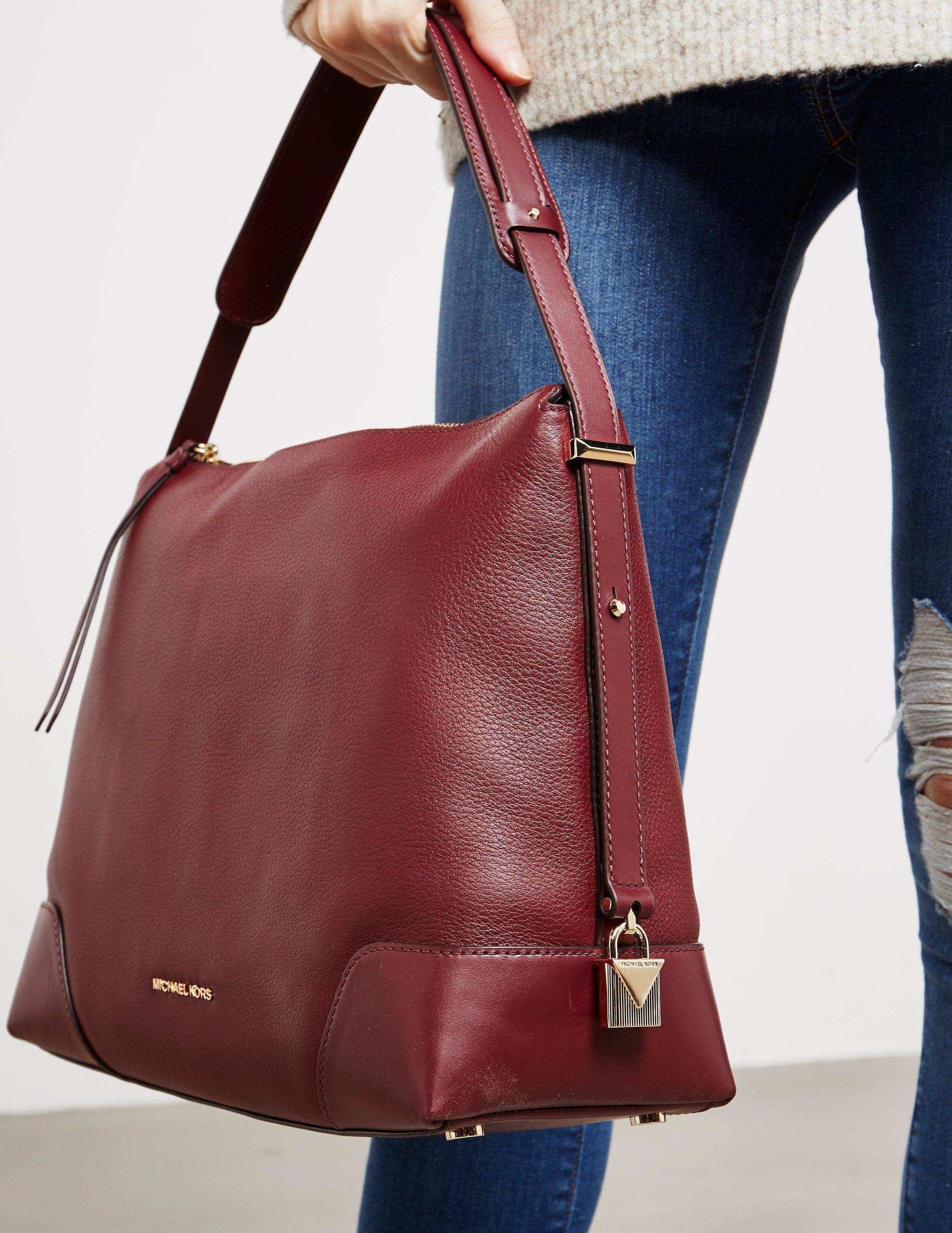 Michael Kors Large Leather Shoulder Bag