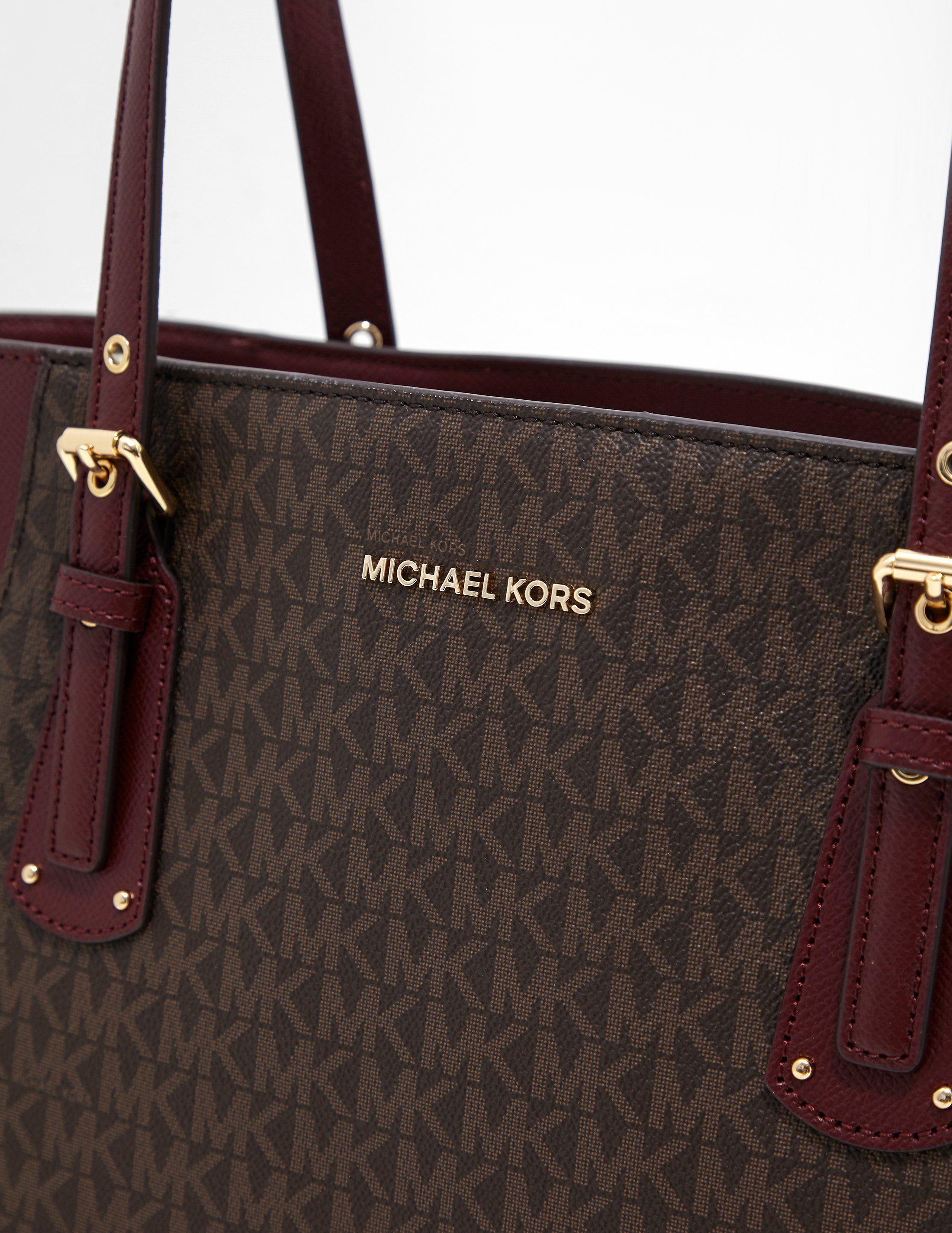 Michael Kors Voyager Signature Tote Bag
