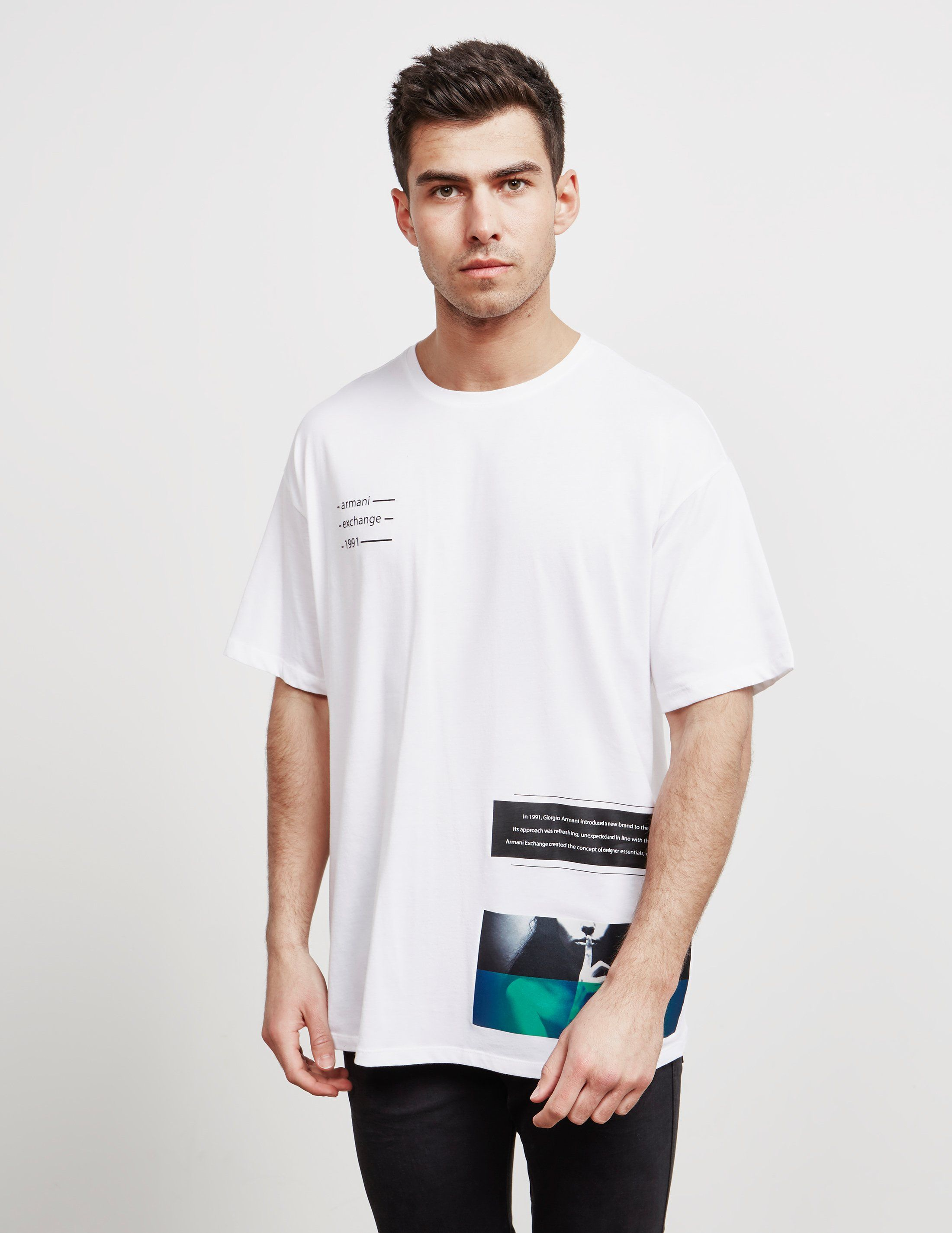 Armani Exchange Oversized Short Sleeve T-Shirt