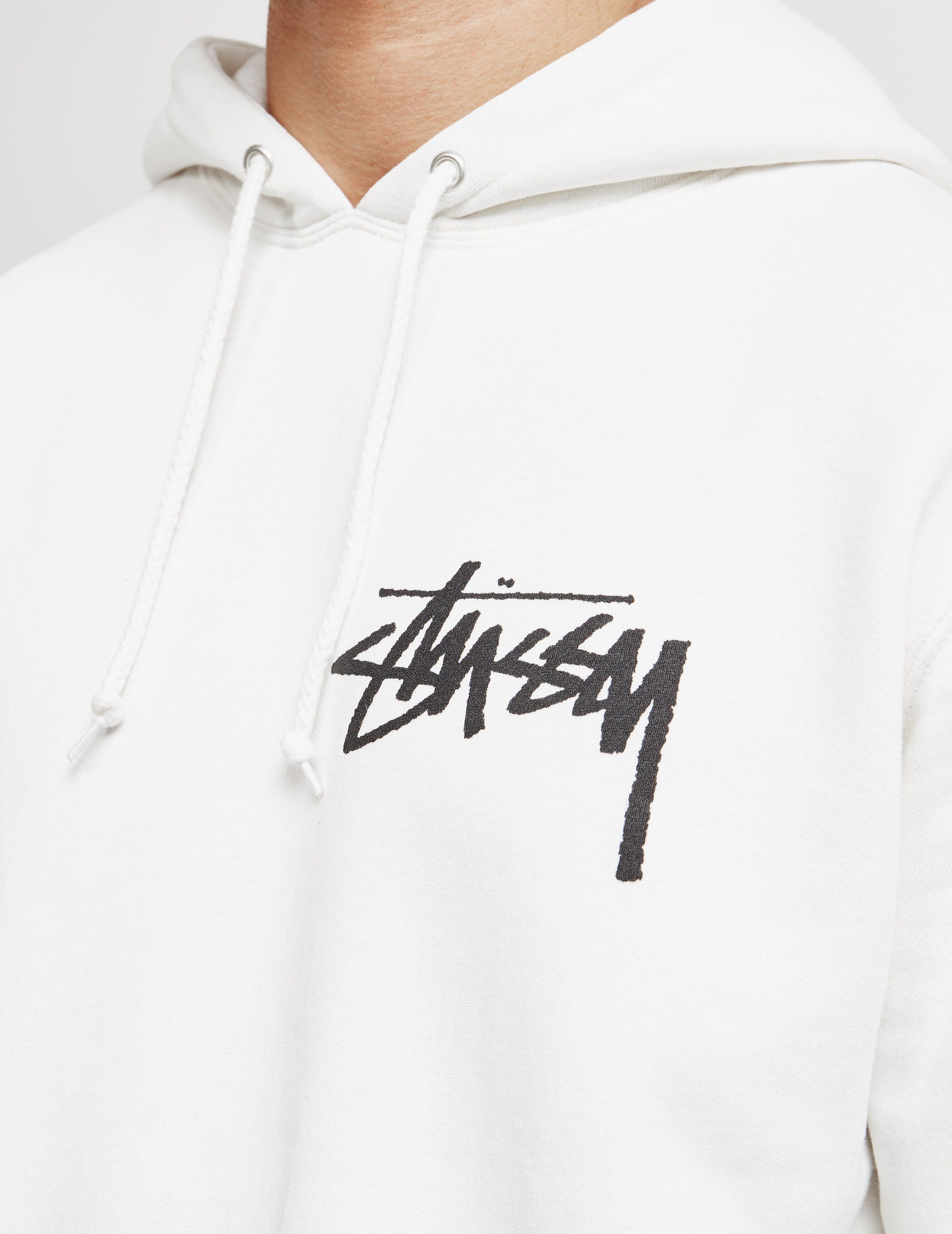 Stussy Pigment Dyed Stock Logo Overhead Hoodie