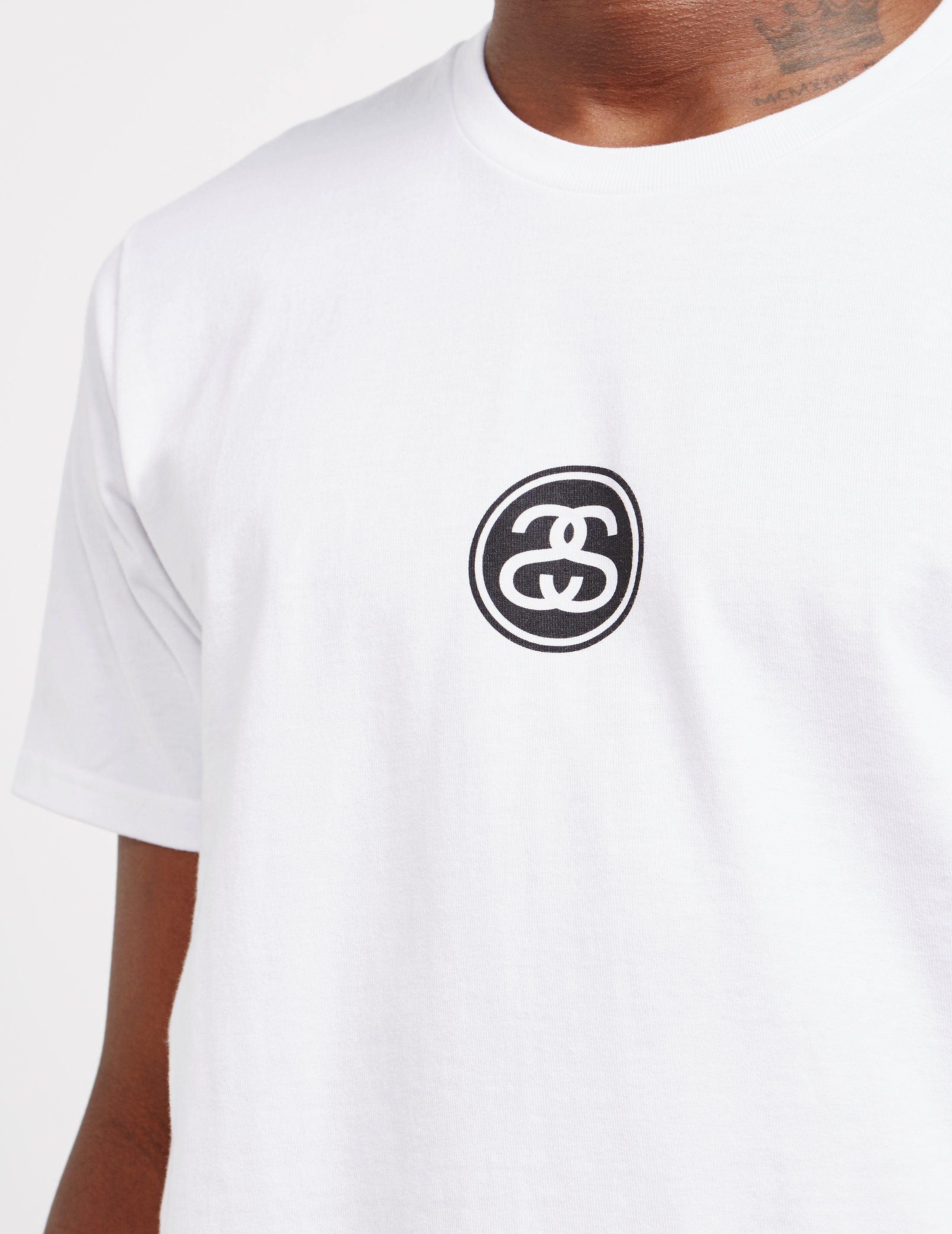 Stussy Link Logo Short Sleeve T-Shirt