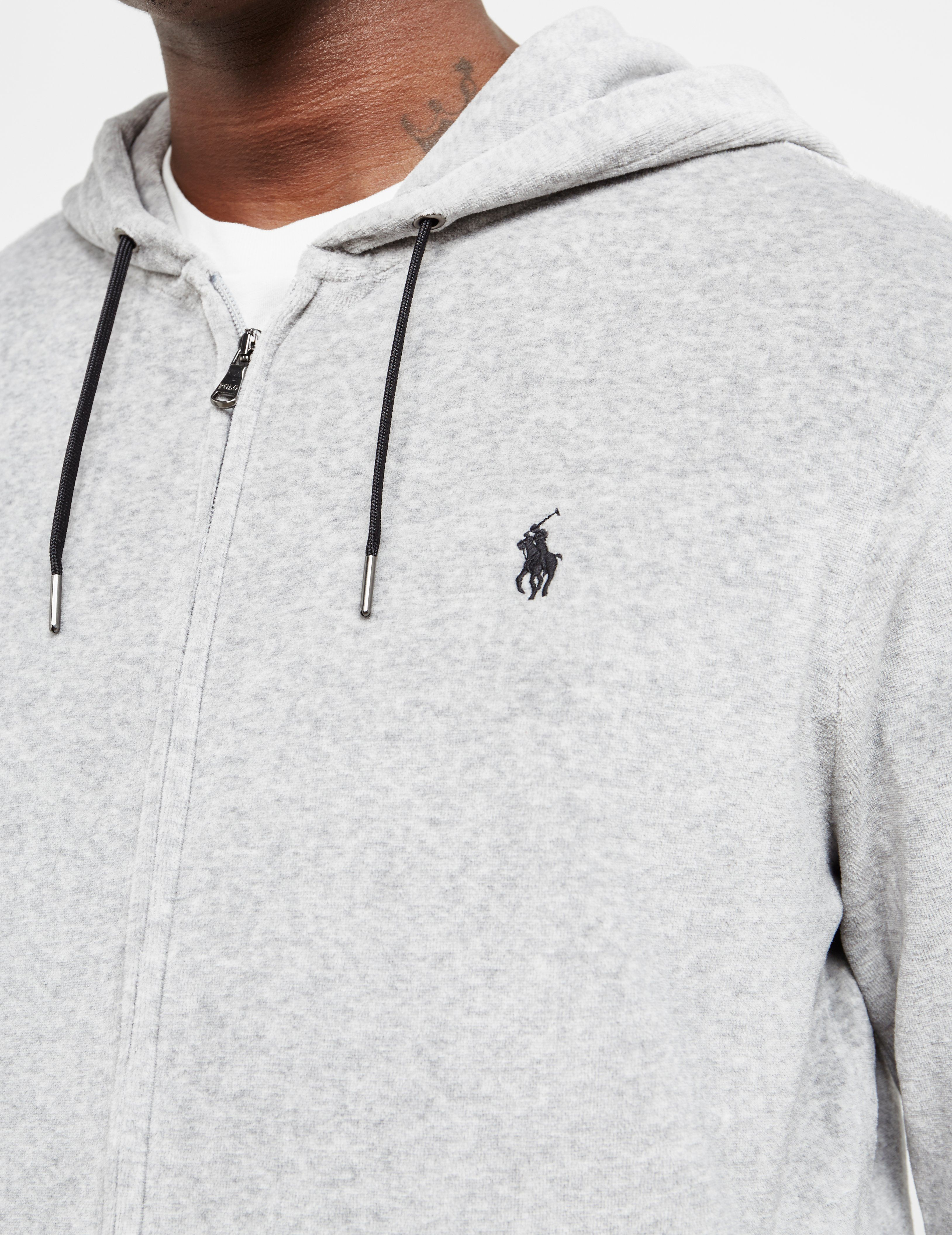 Polo Ralph Lauren Velour Full Zip Hoodie