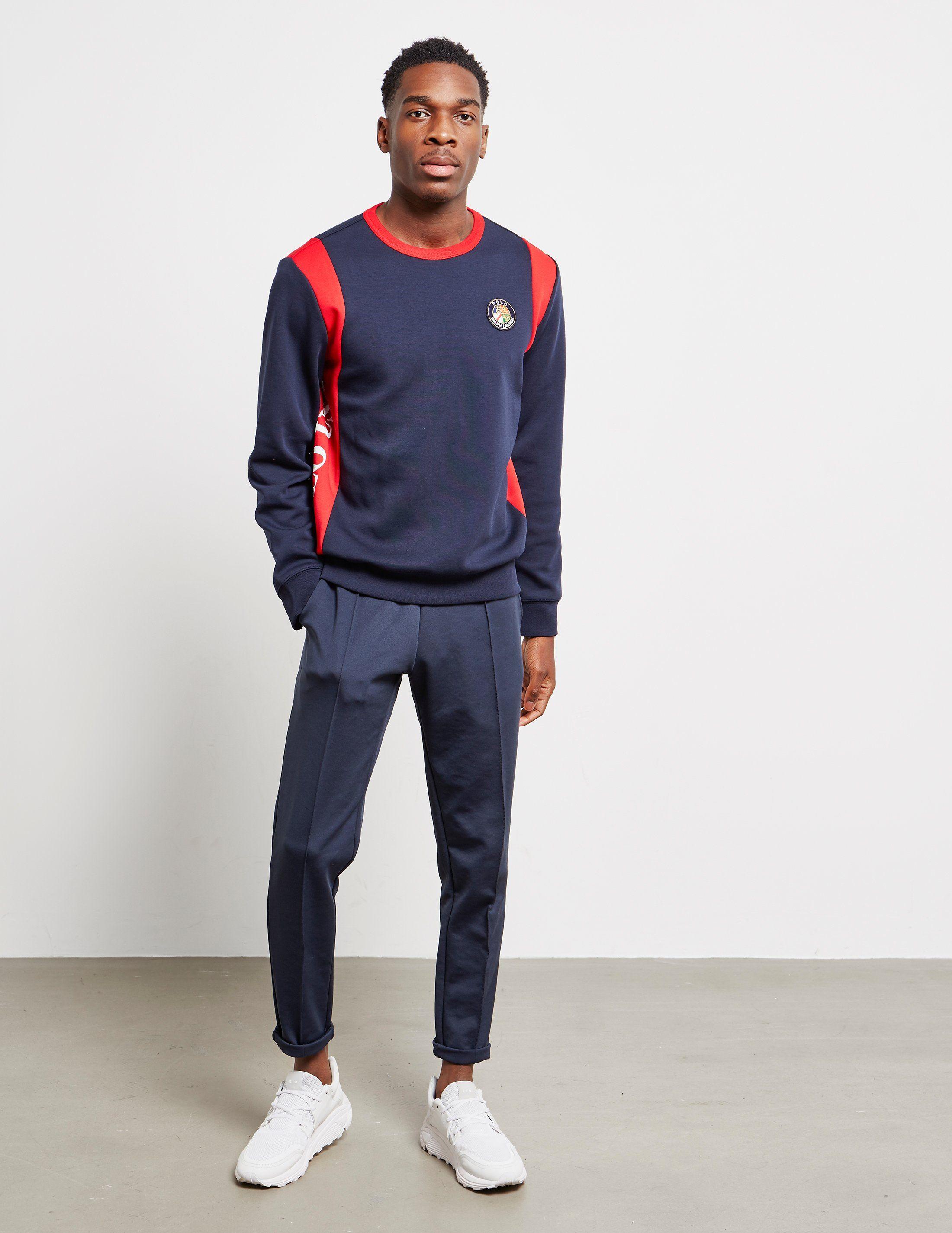 Polo Ralph Lauren Colour Block USA Sweatshirt
