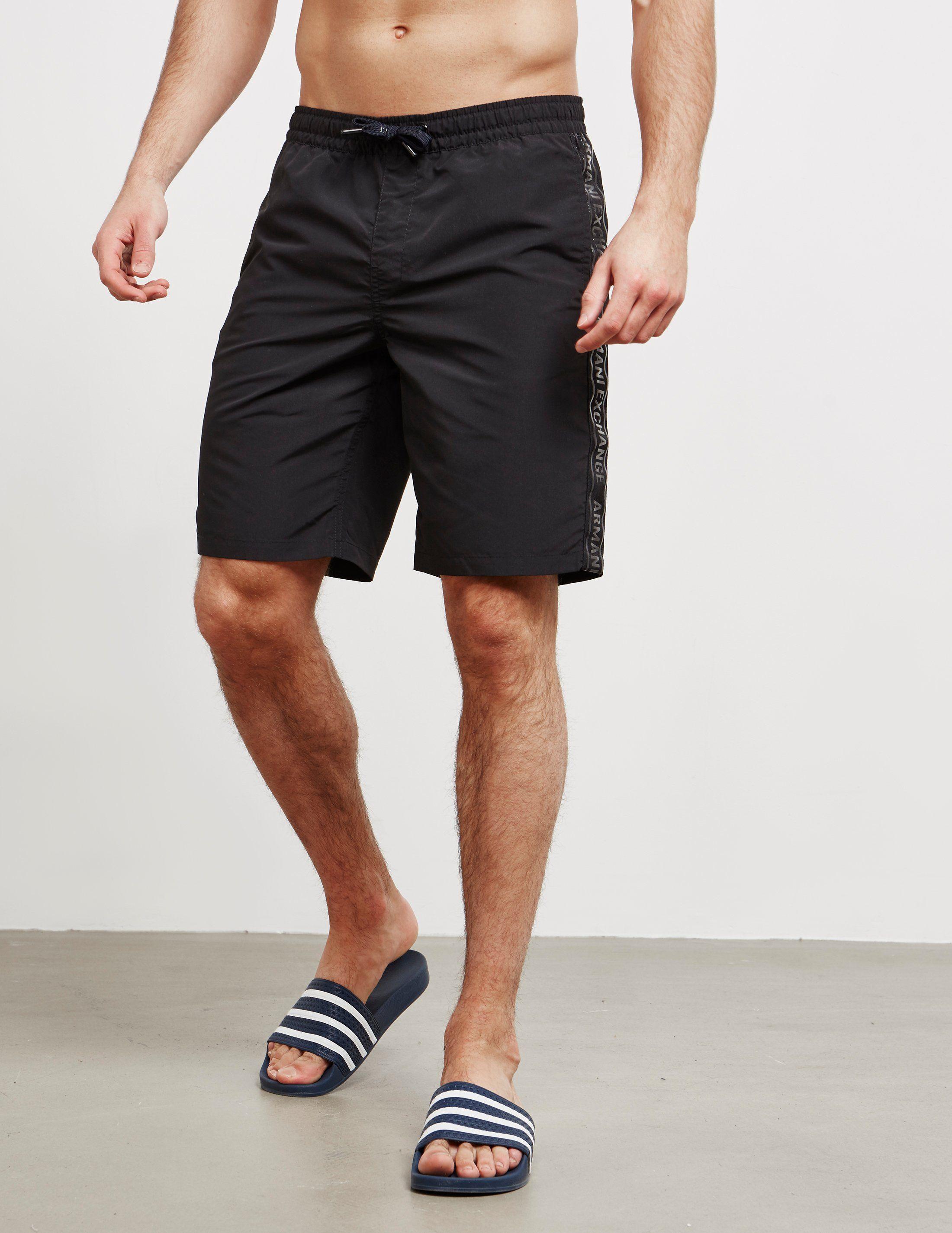 Armani Exchange Tape Swim Shorts
