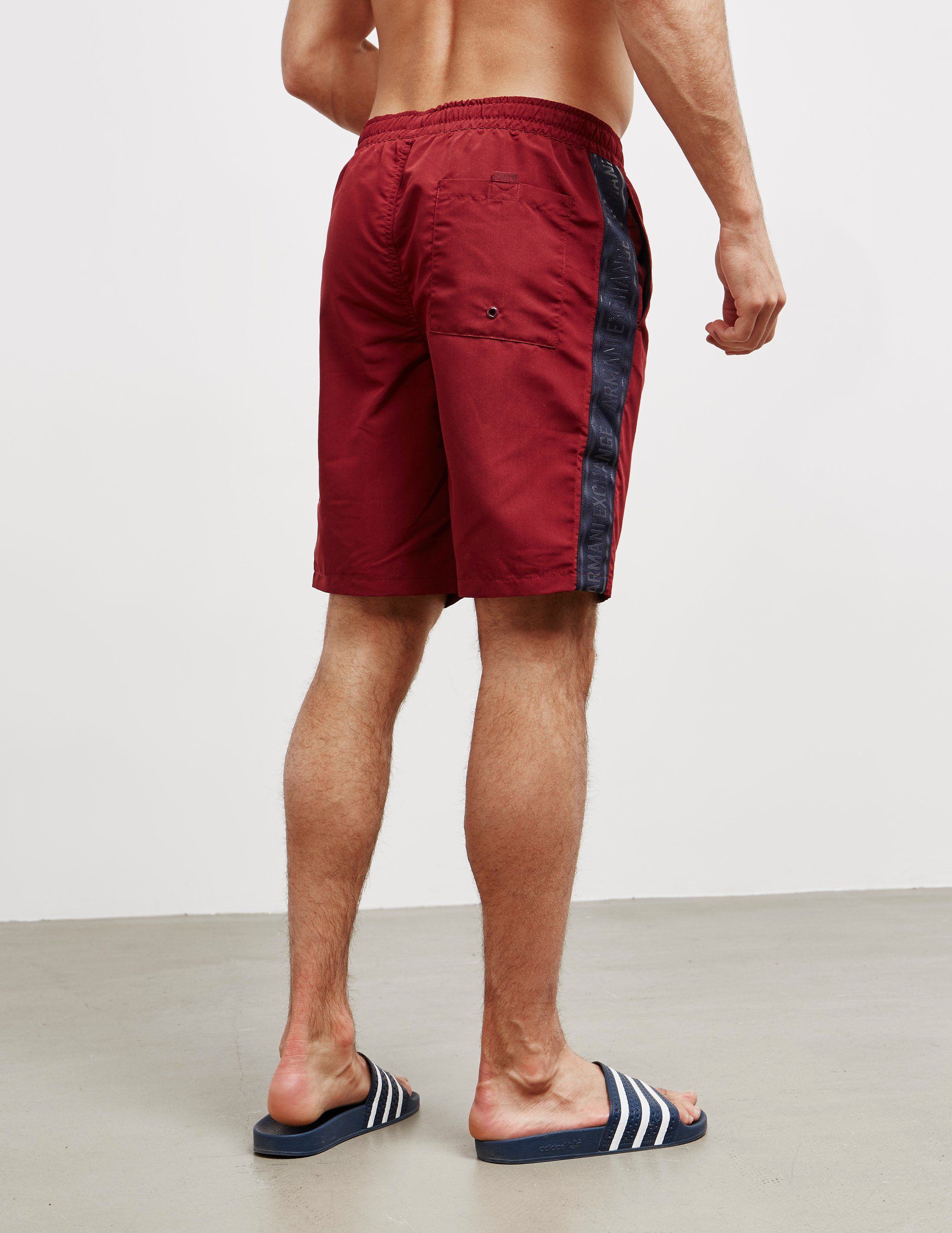 Armani Exchange Tape Swim Shorts