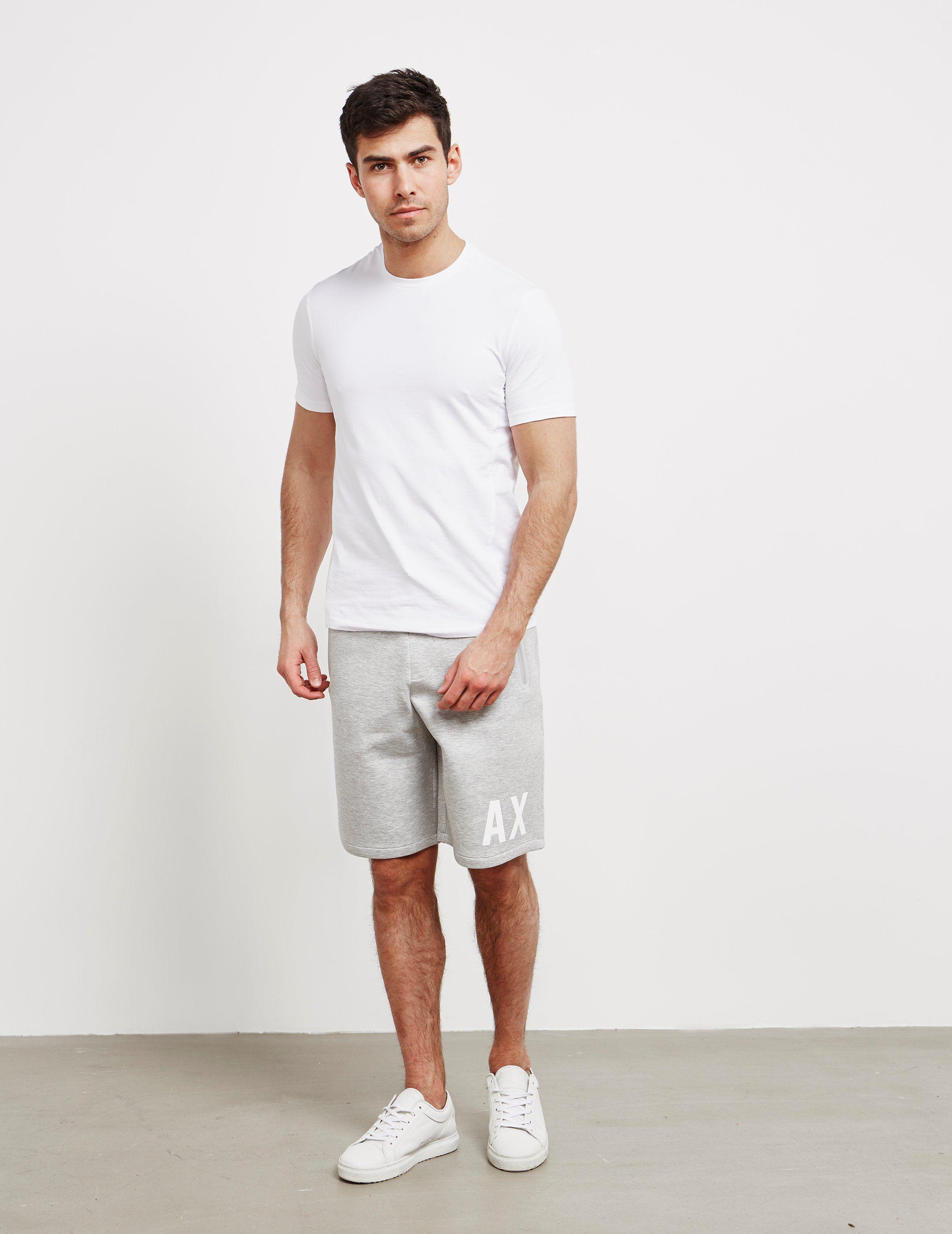 Armani Exchange Logo Shorts