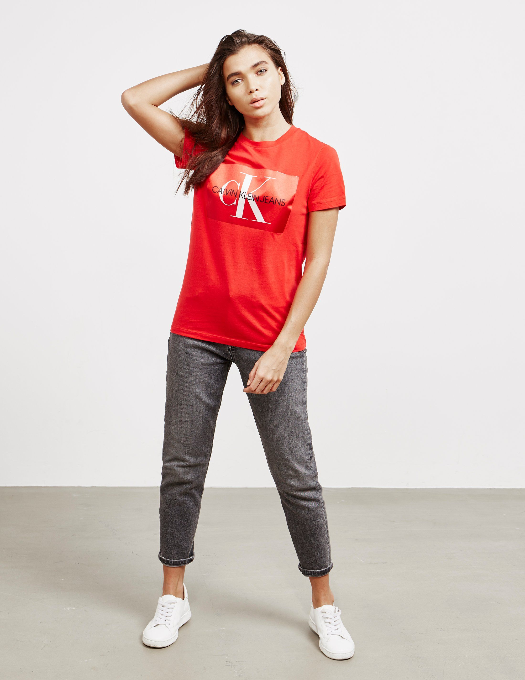 Calvin Klein Jeans Monogram Box Short Sleeve T-Shirt