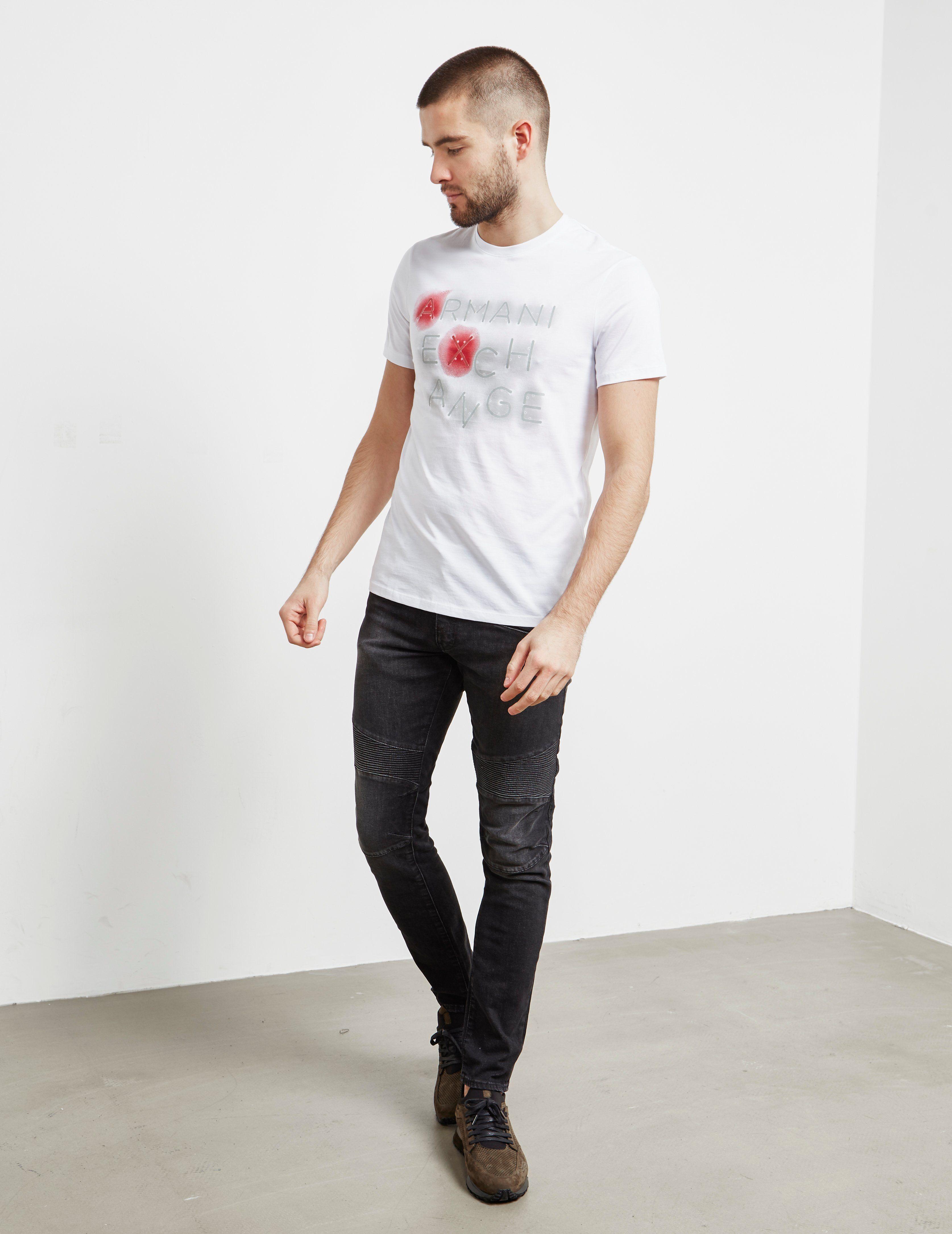 Armani Exchange Neon Glow Short Sleeve T-Shirt