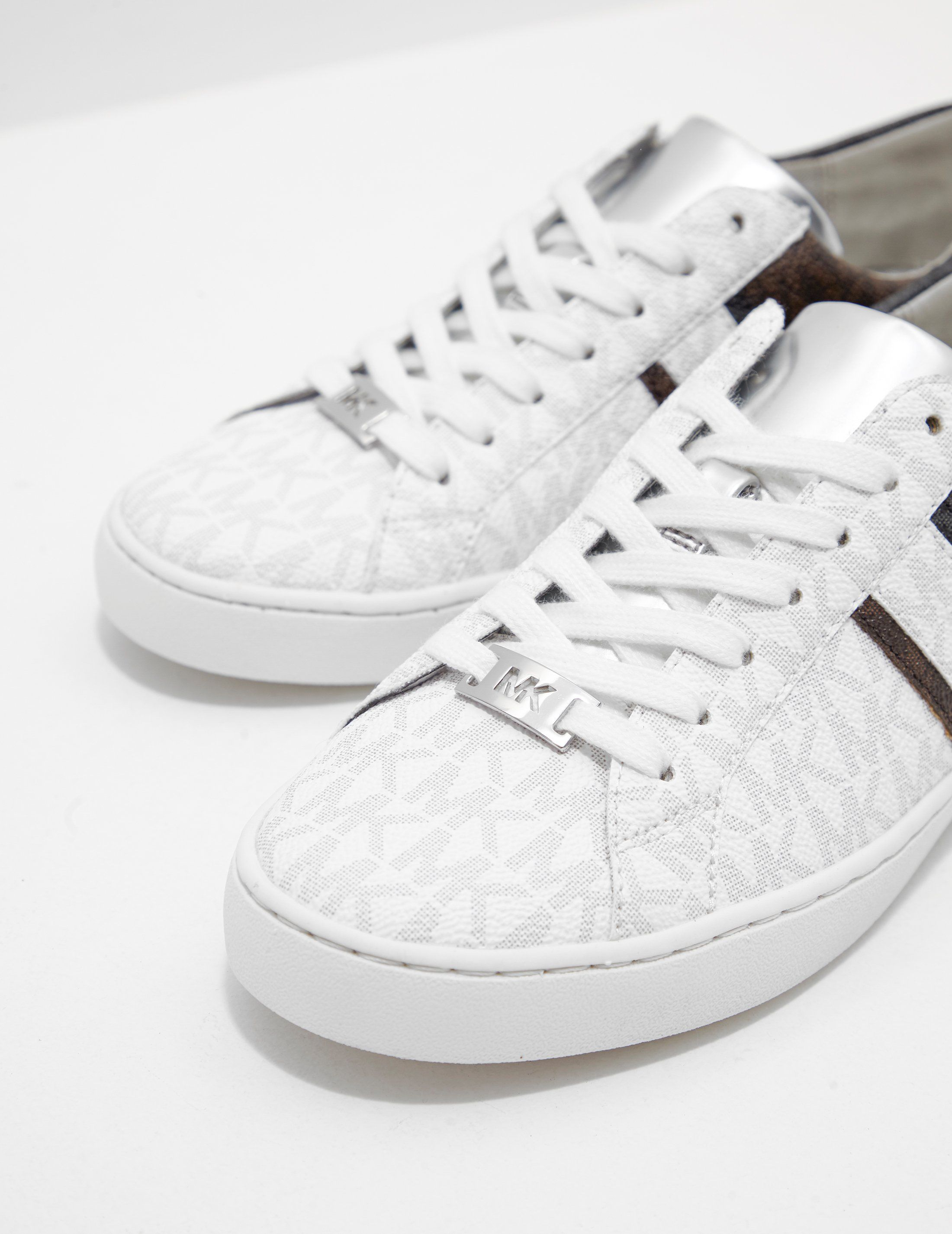 Michael Kors Keaton Stripe Trainers