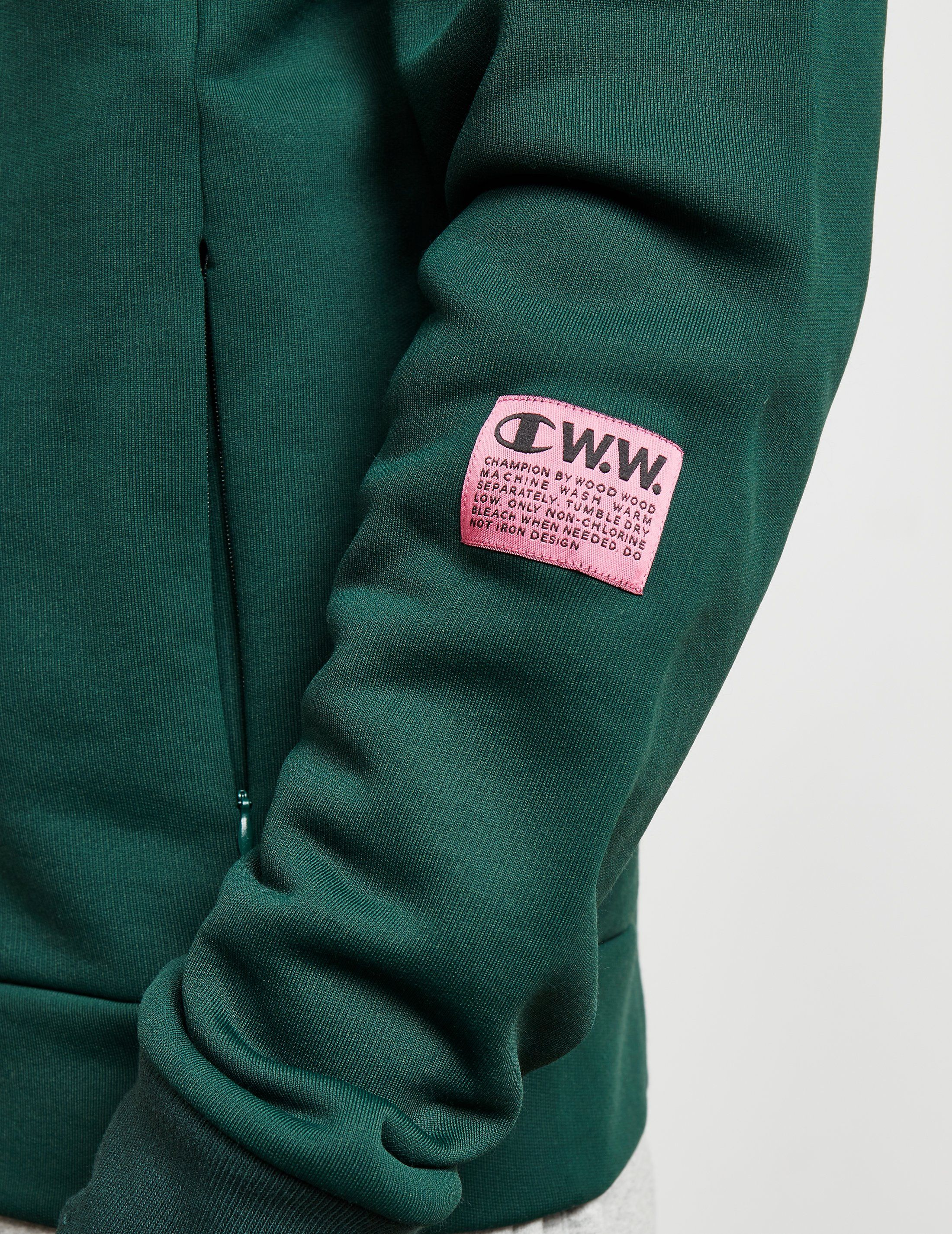 Champion x Wood Wood Pocket Full Zip Sweatshirt